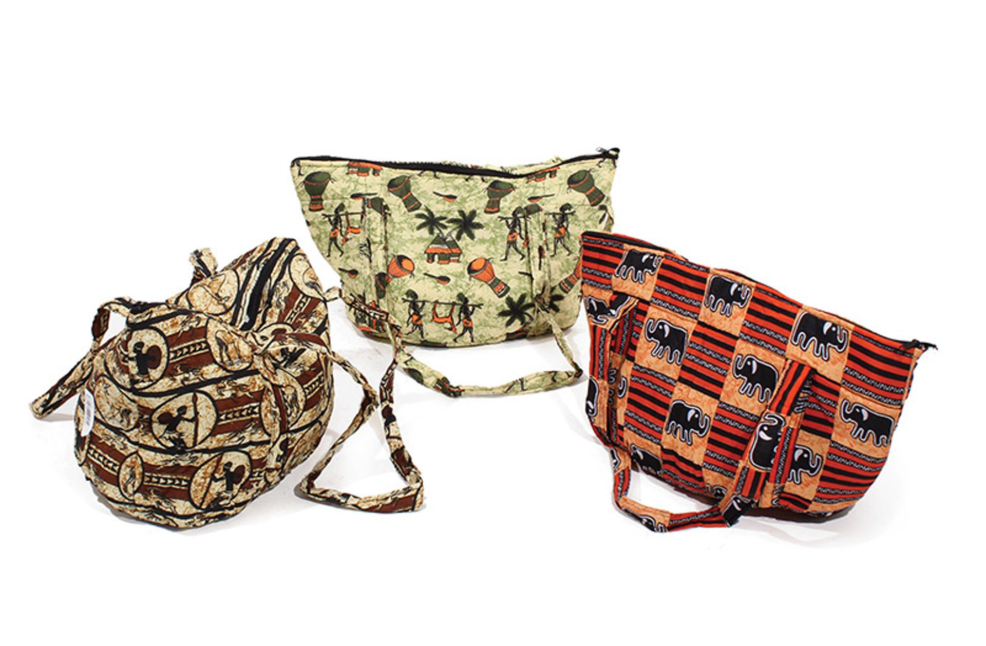 Picture of African Print Hand Bag - ASSORTED