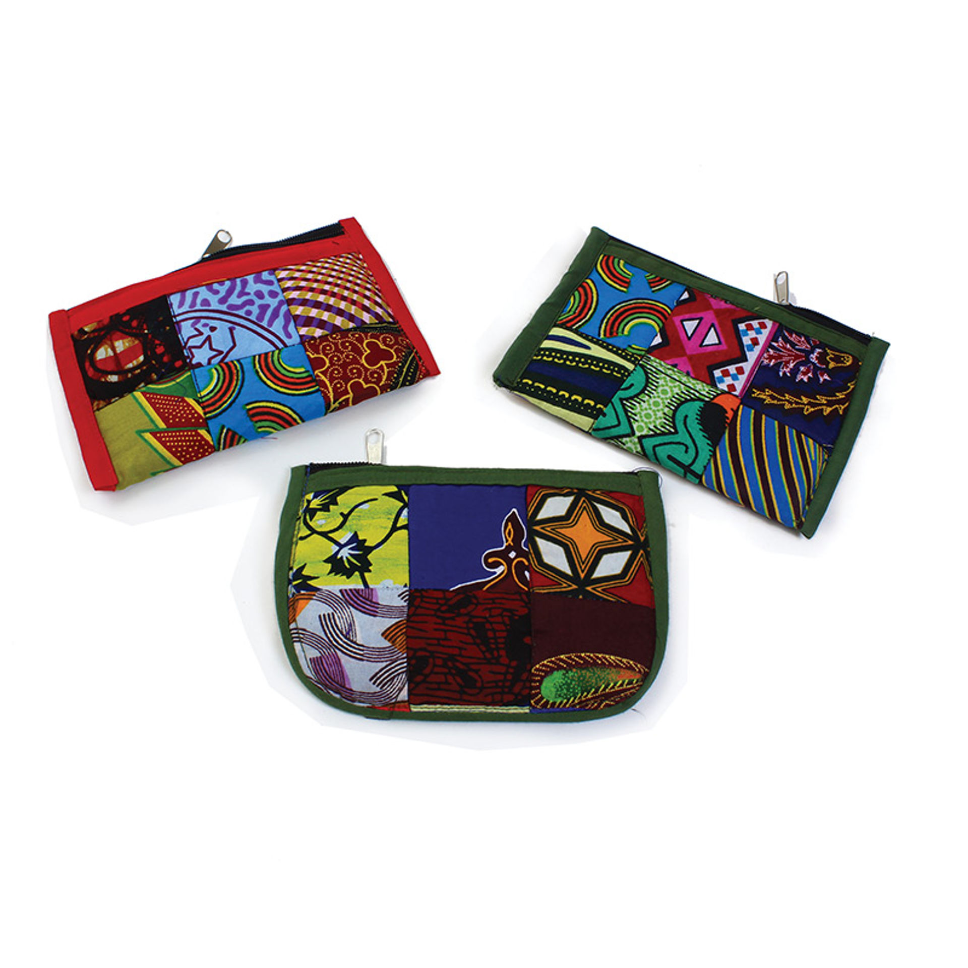 Picture of Quilted Kitenge Cloth Coin Purse