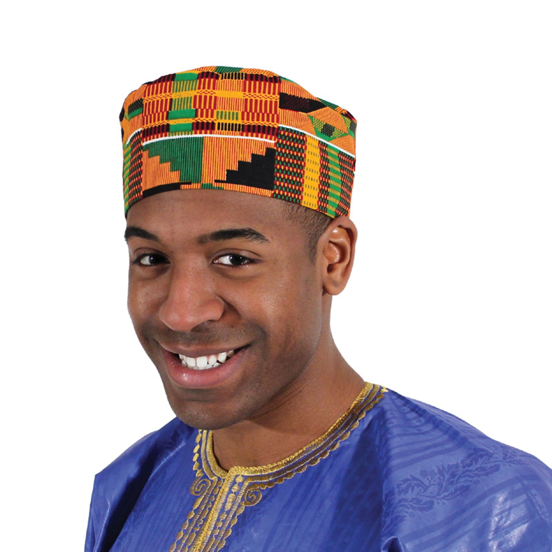 Picture of Kente Kufi Hat Style #2
