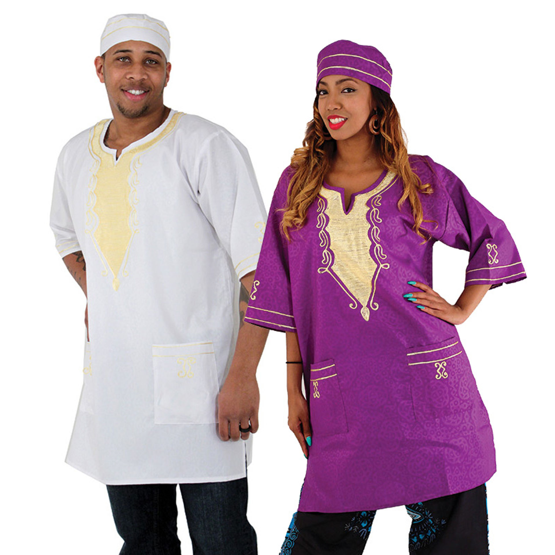 Picture of Embroidered Travelers Dashiki
