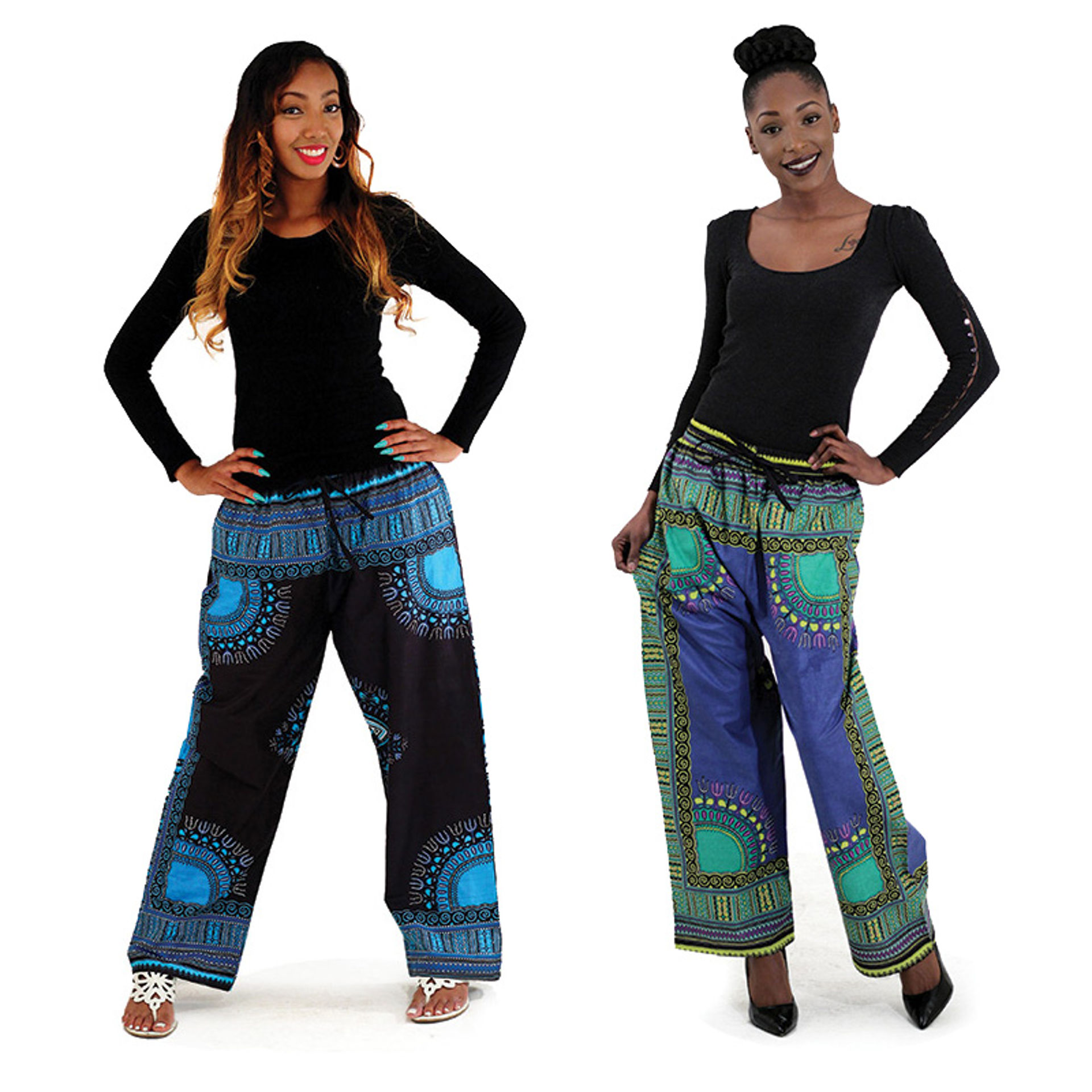 Picture of Traditional Print Pants