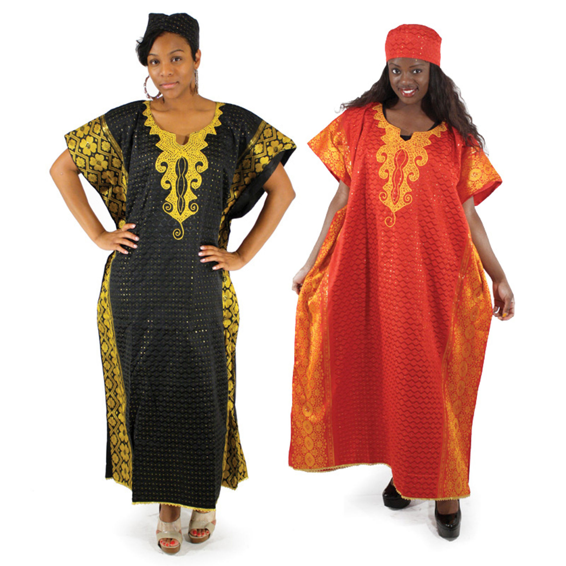 Picture of George Fabric Kaftan