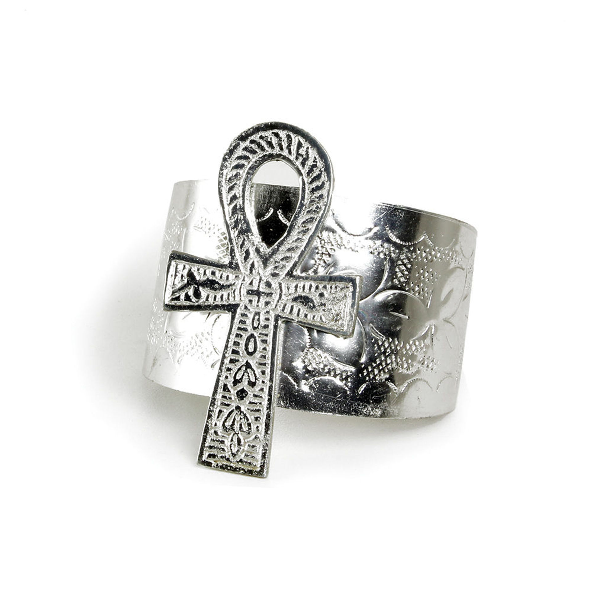 Picture of Ankh Cuff: Silver