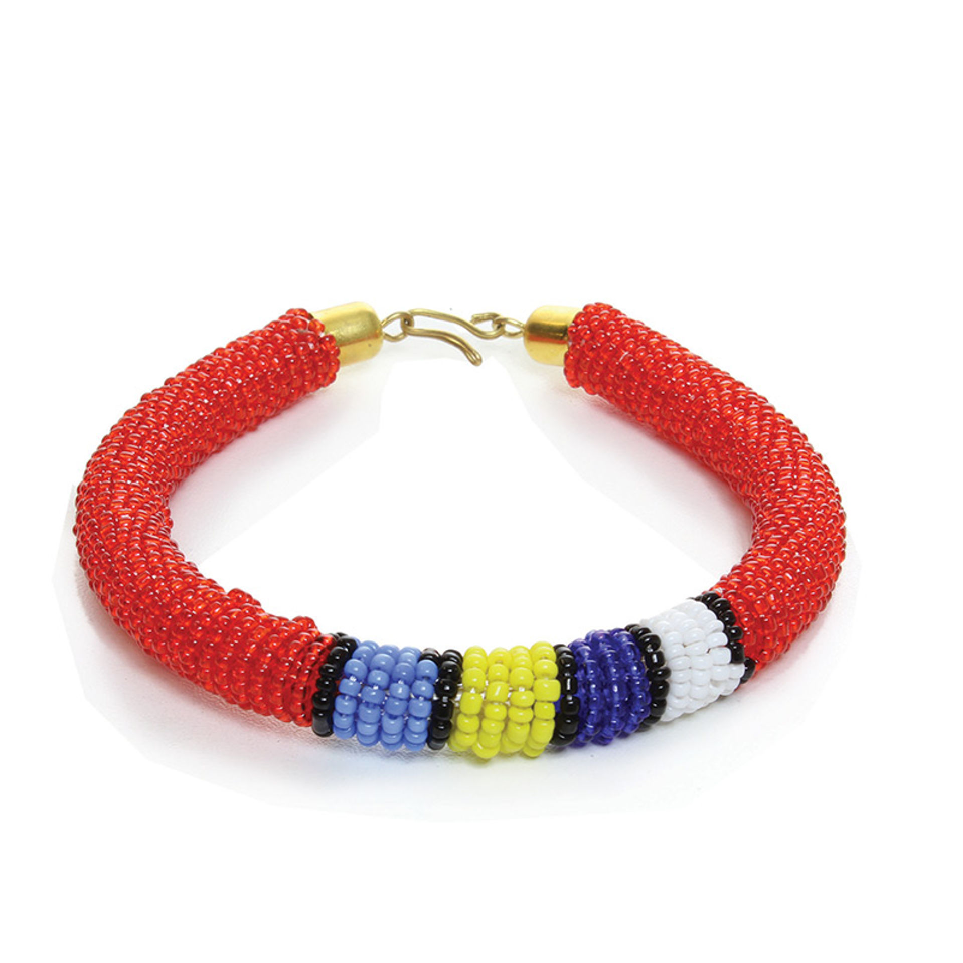 Picture of Beaded Clip Bracelet: ASSORTED