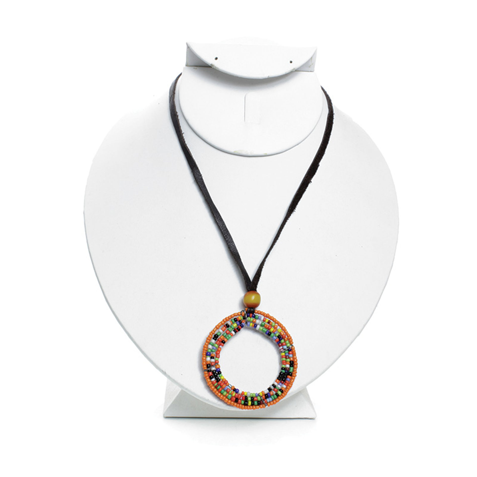 Picture of Maasai Beaded Necklace: Large Hoop