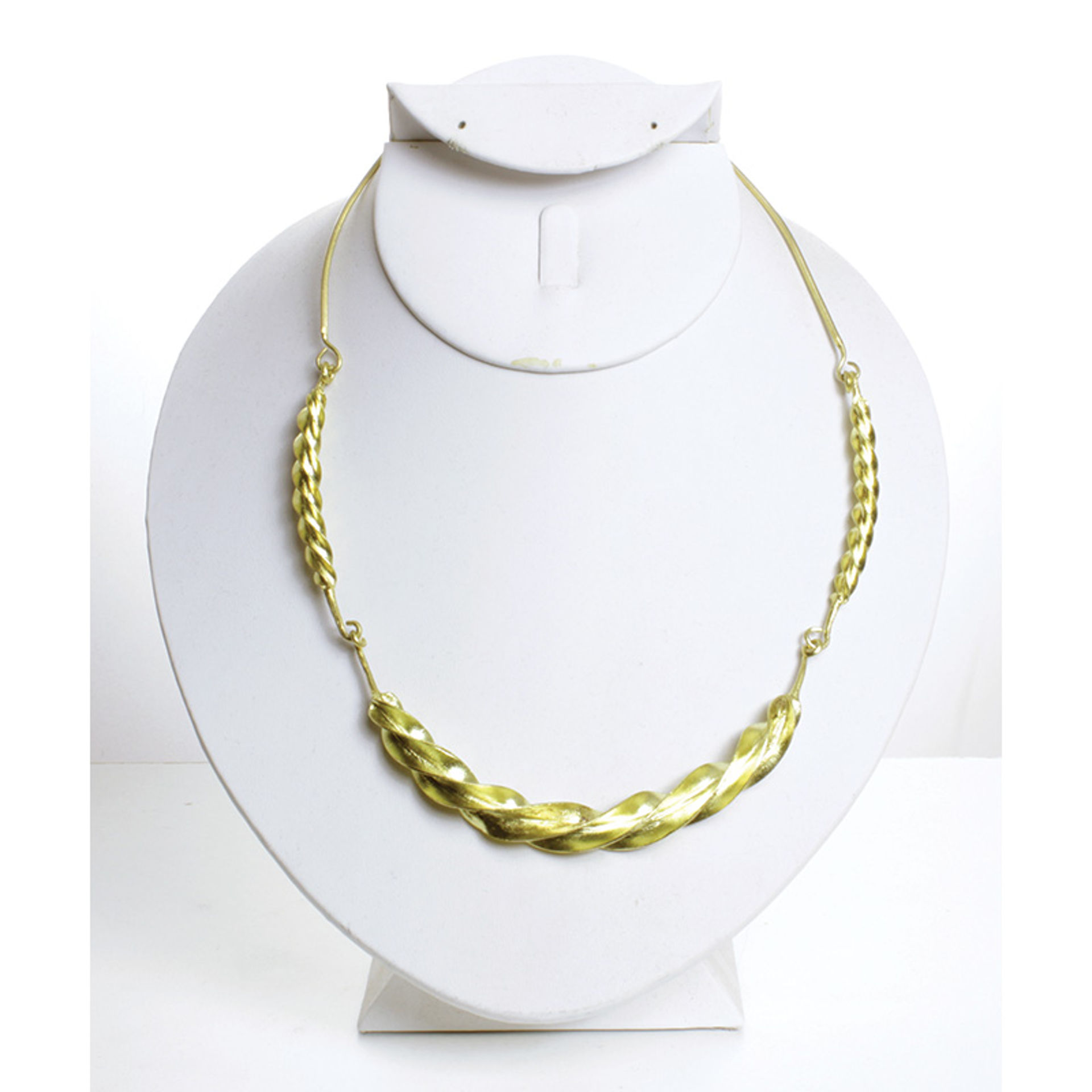 Picture of Fulani Gold Twist Necklace