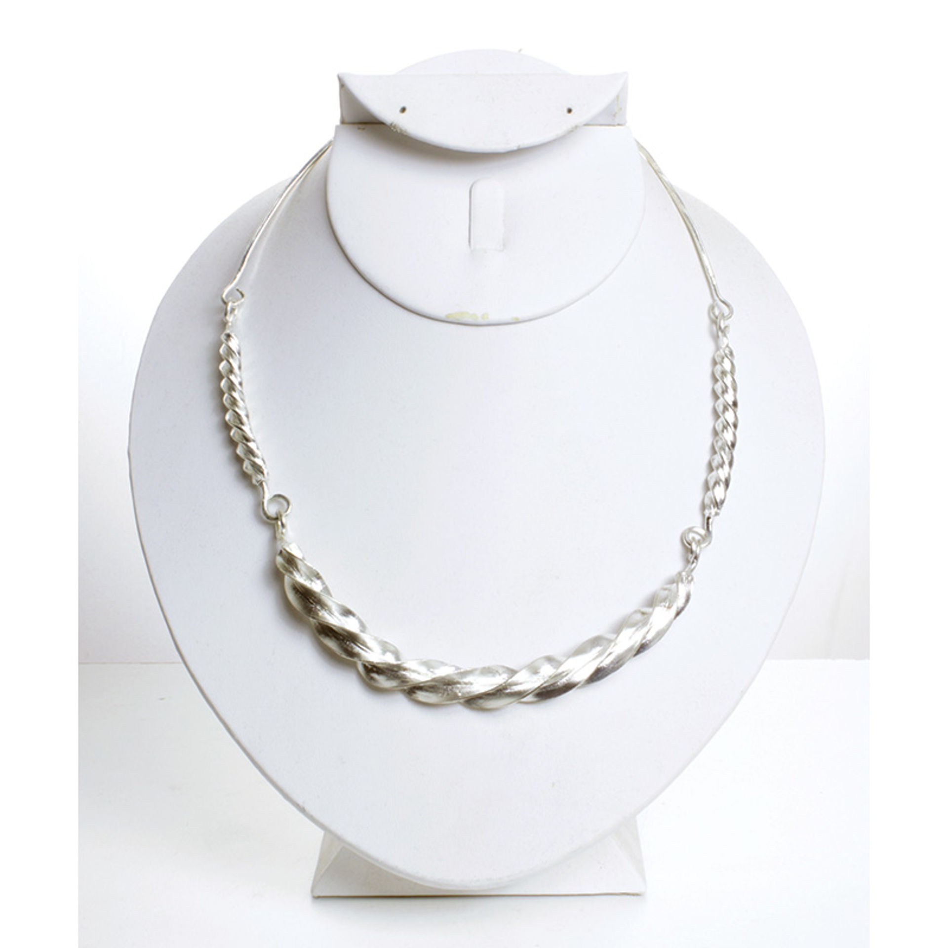 Picture of Fulani Silver Twist Necklace