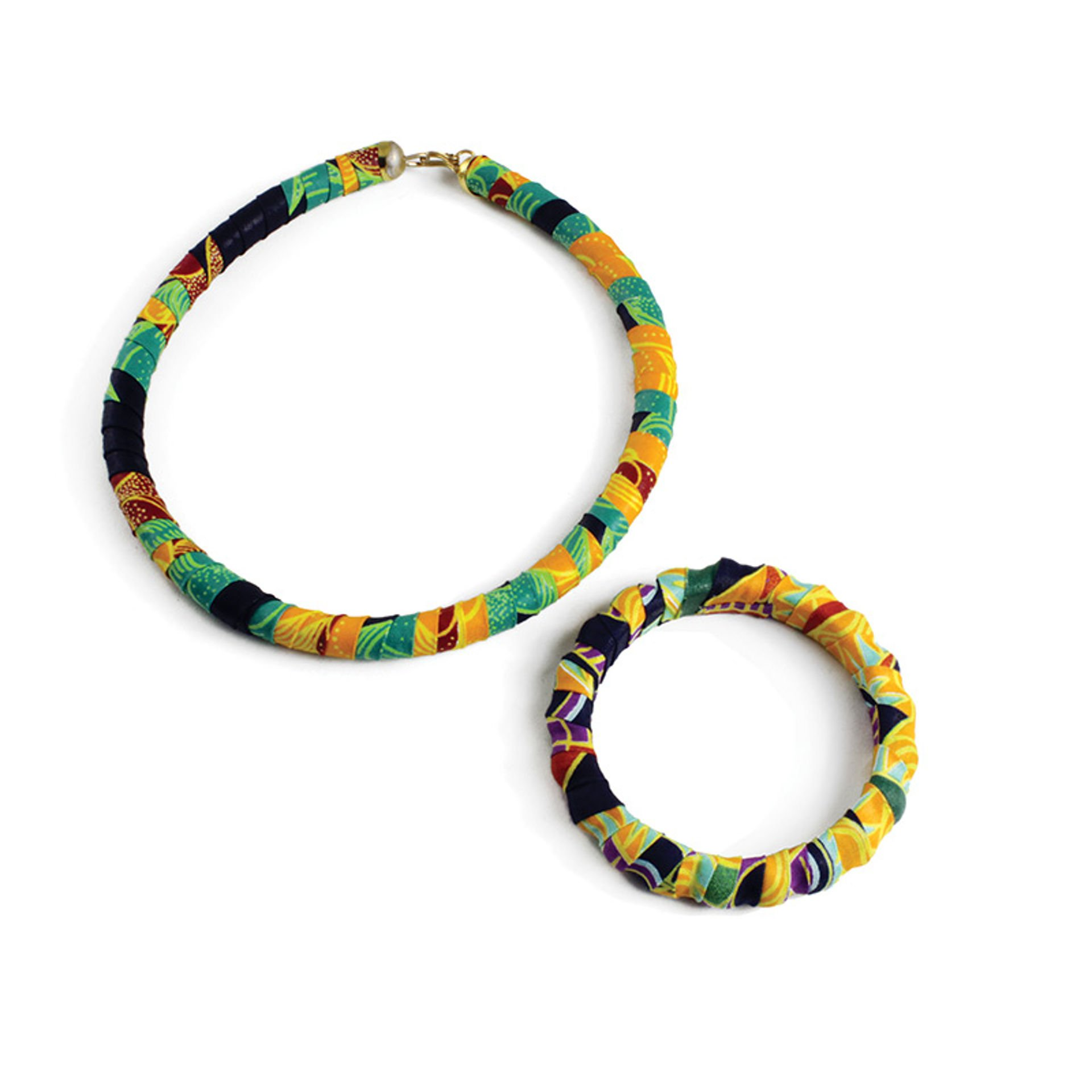Picture of Kitenge Jewelry Set - ASSORTED