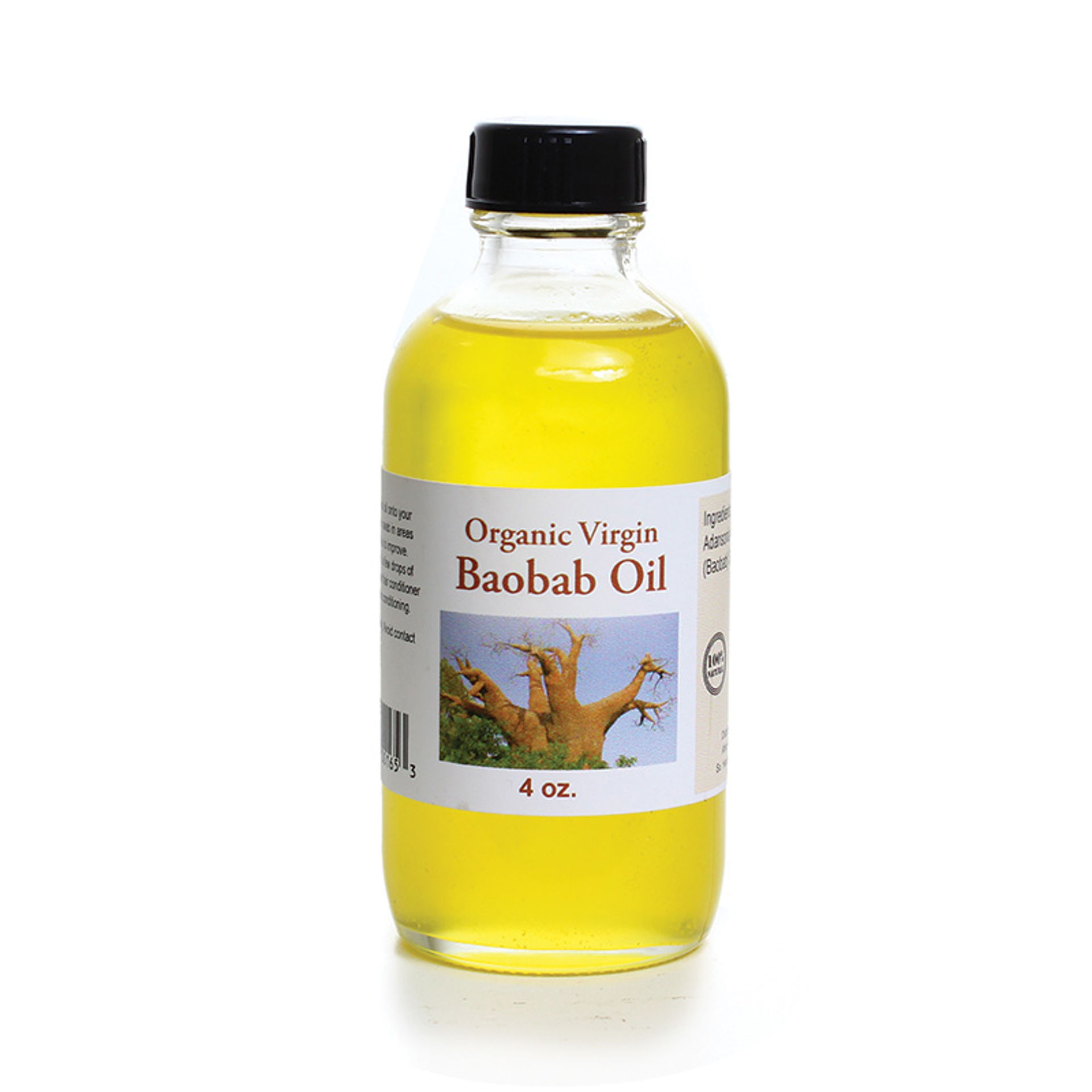 Picture of Organic Virgin Baobab Oil - 4 oz.