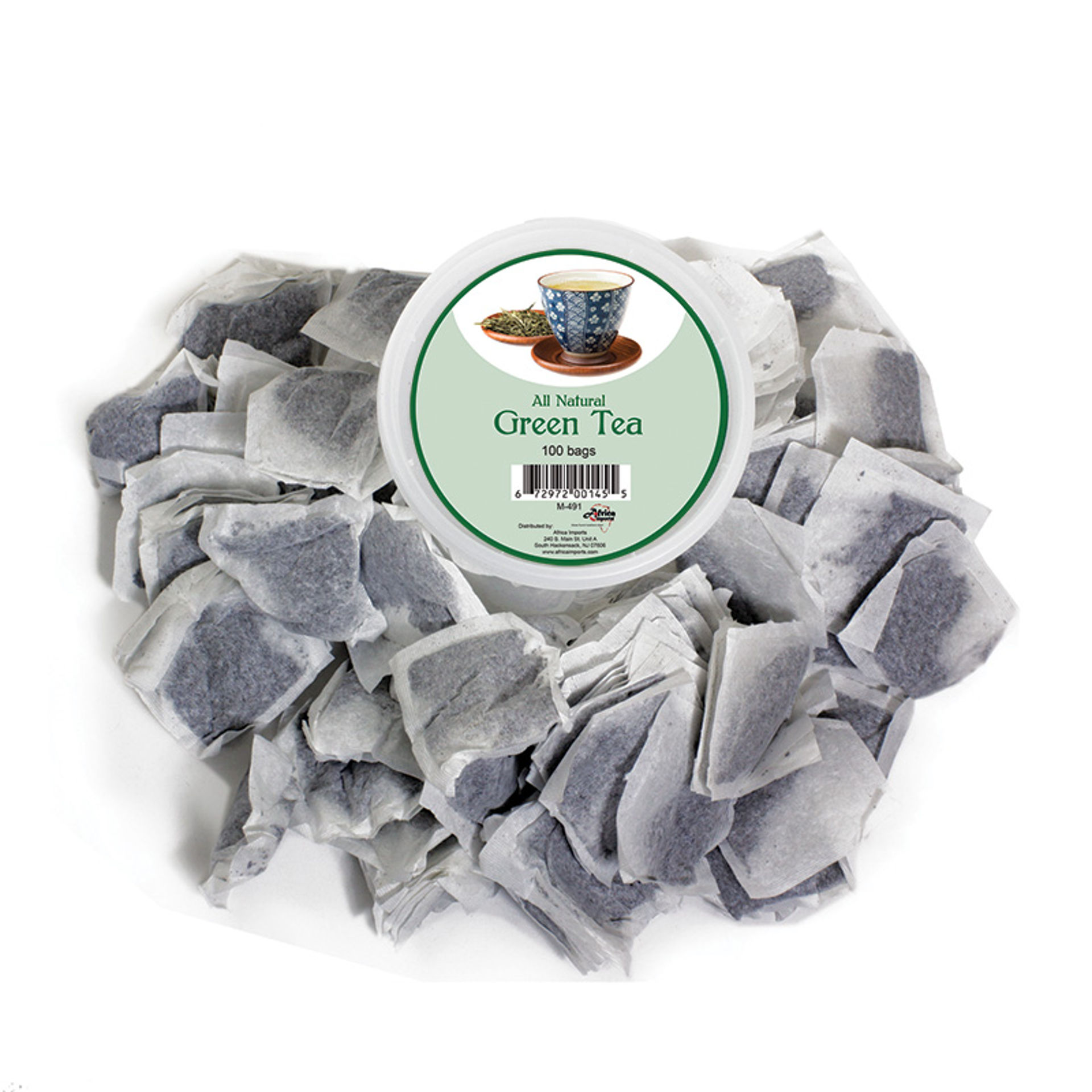 Picture of Chinese Antioxidizing Green Tea 100 Bags