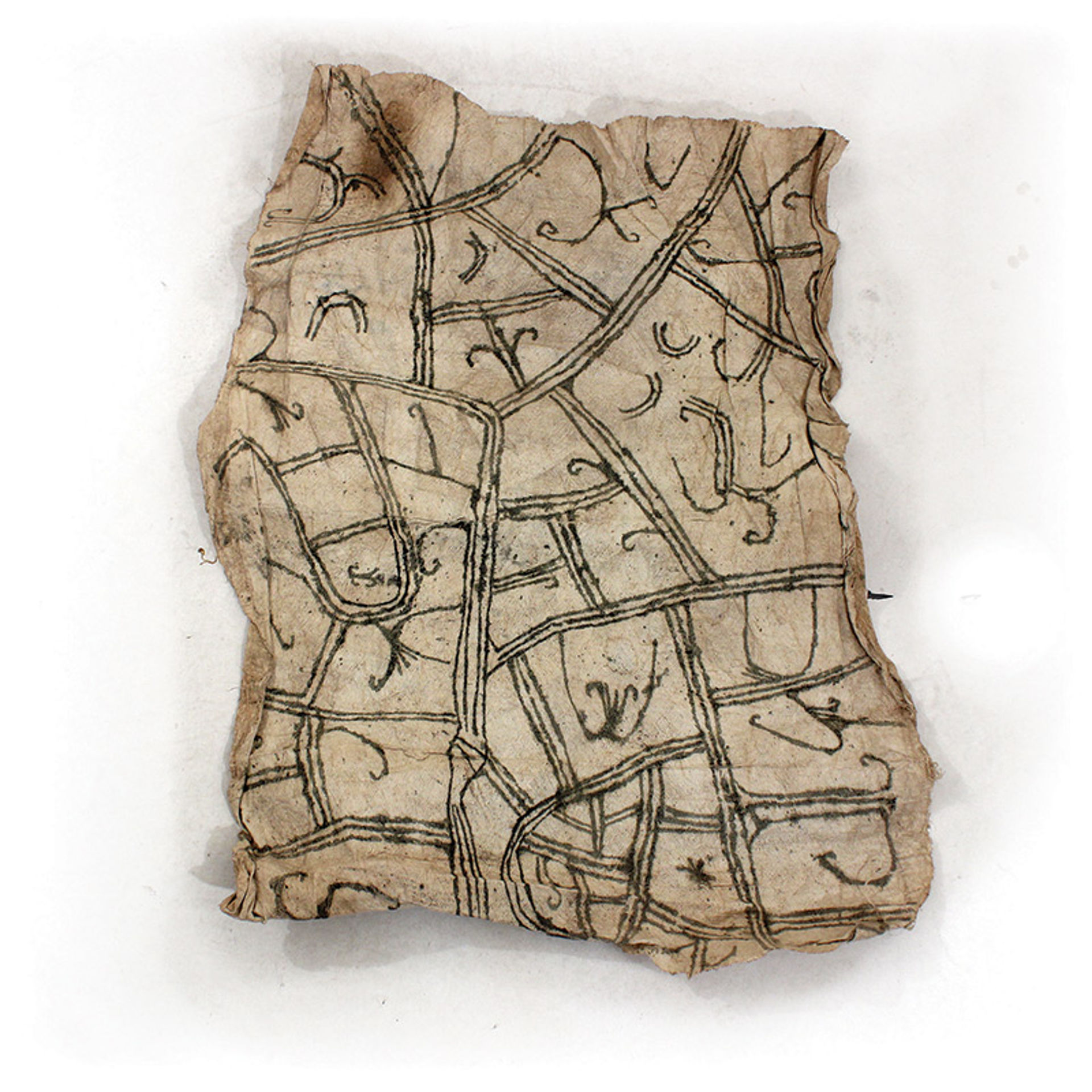 Picture of Congolese Pygmy Cloth - Square