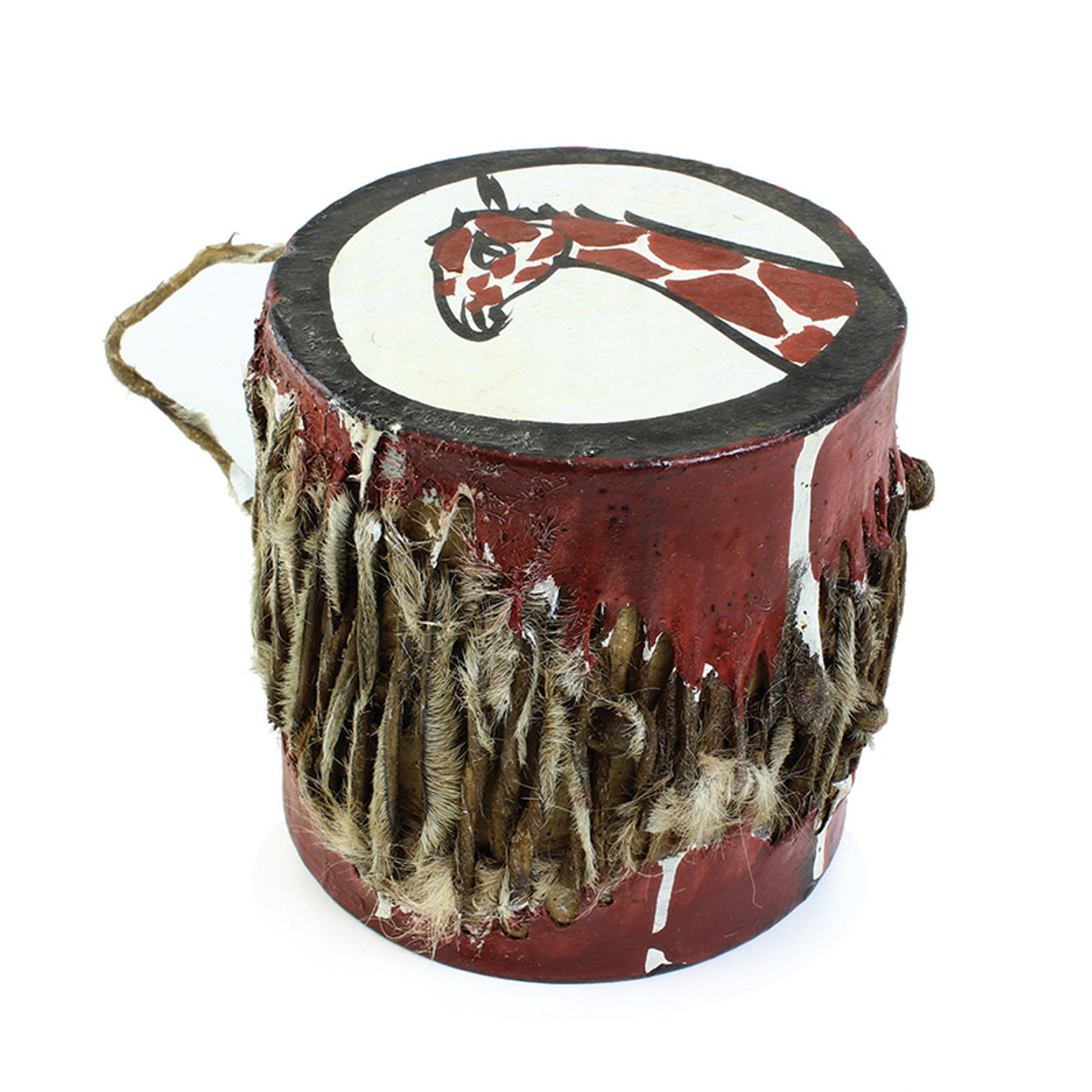 Picture of Small African Drum: Giraffe