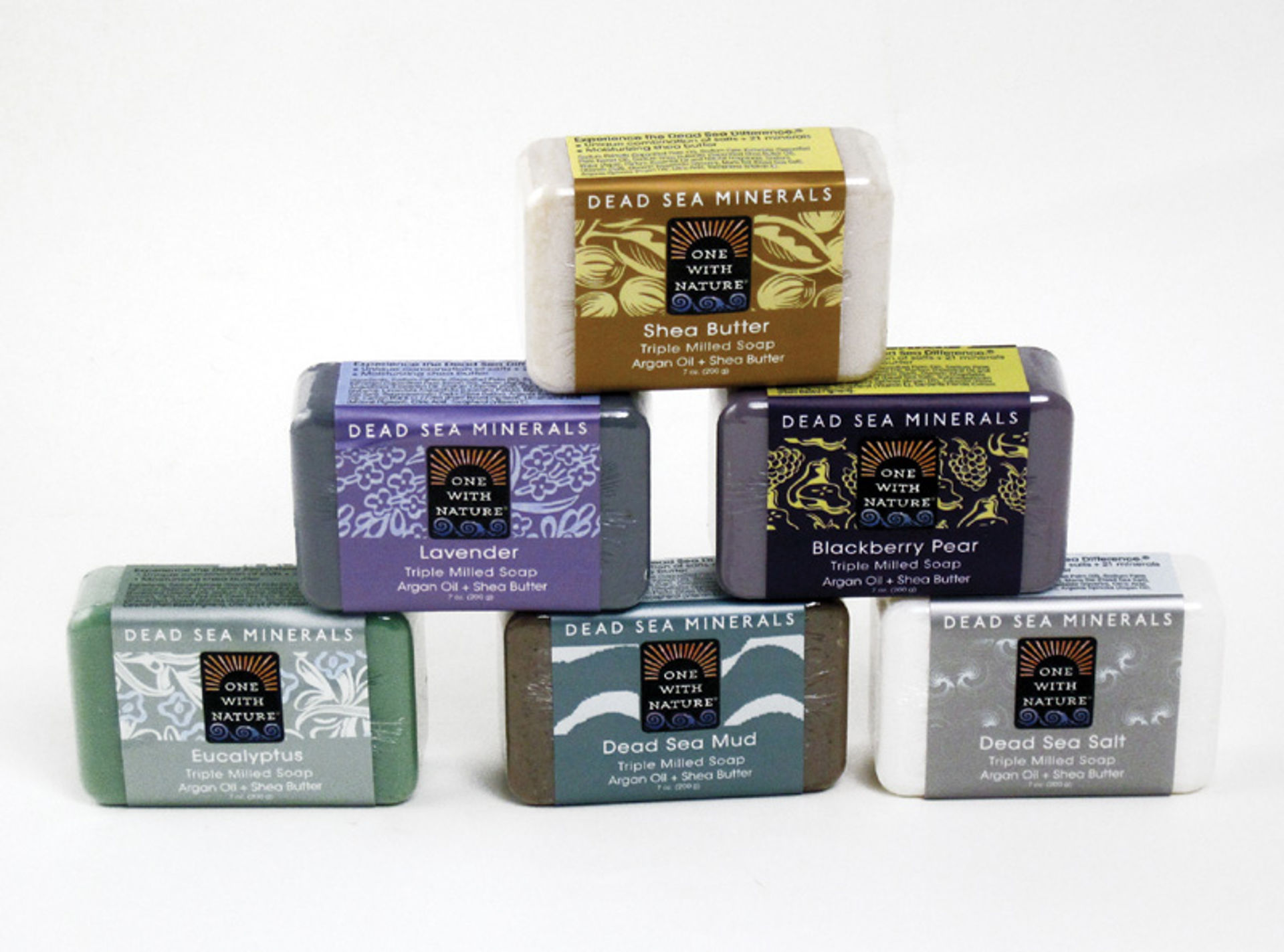 Picture of Set Of 6 Dead Sea Minerals Soap
