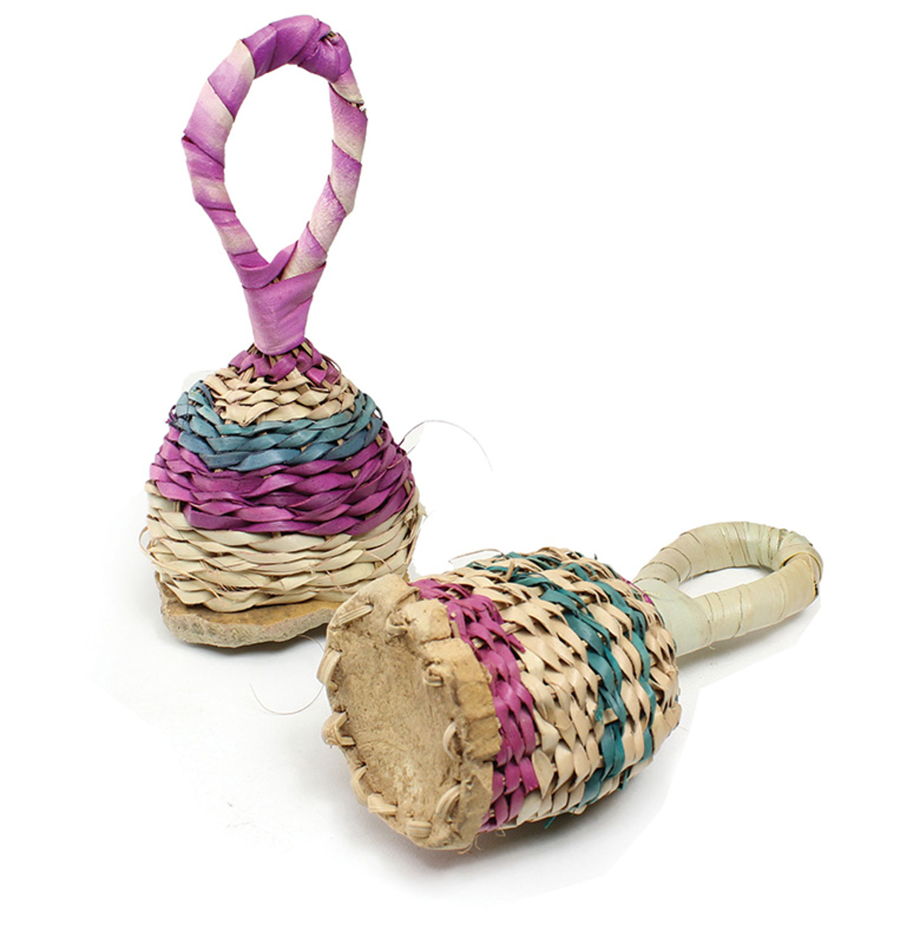 Picture of Straw Wicker Rattles - Bambara