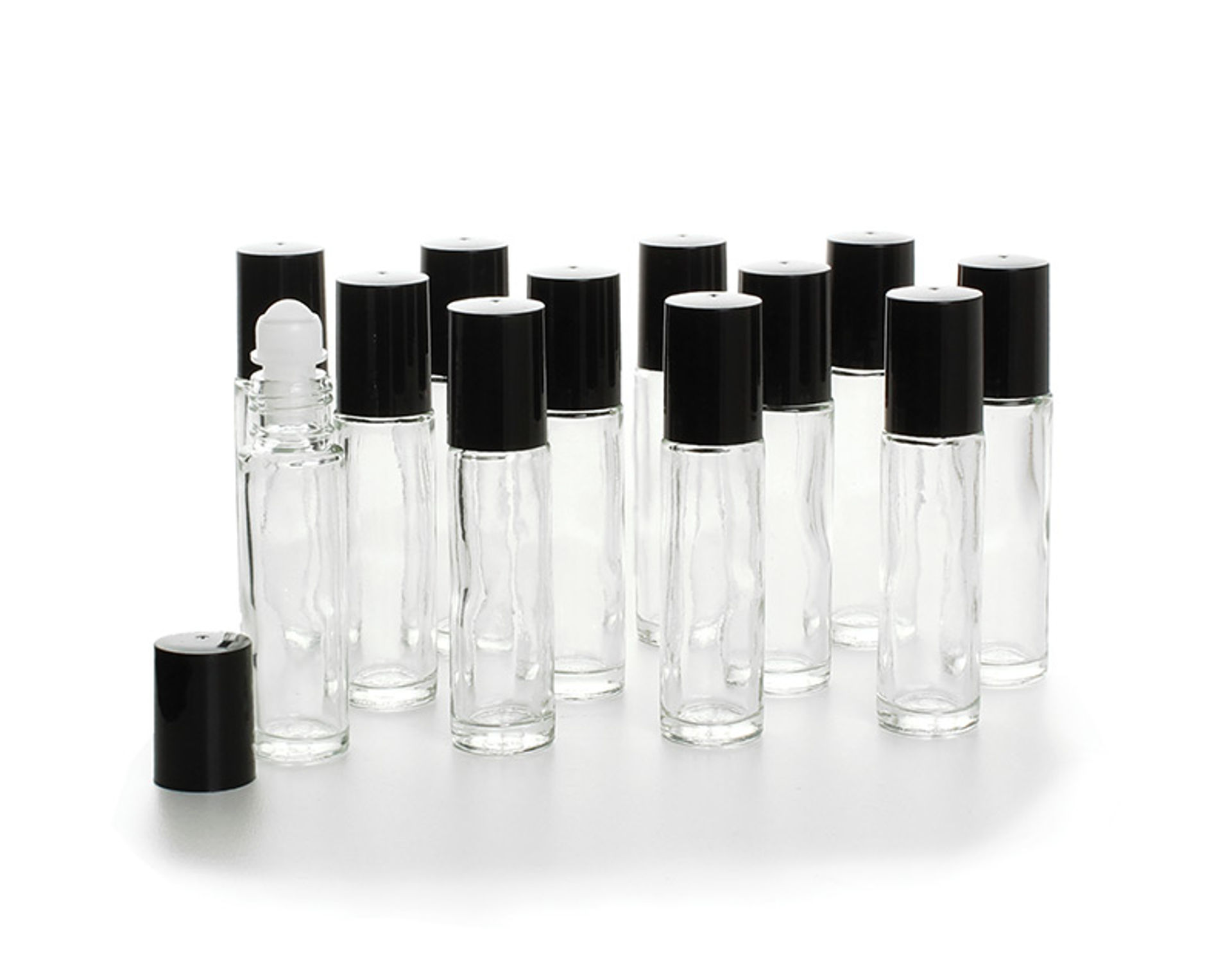 Picture of 1/3 oz Glass Roll-On Bottles - Set Of 12