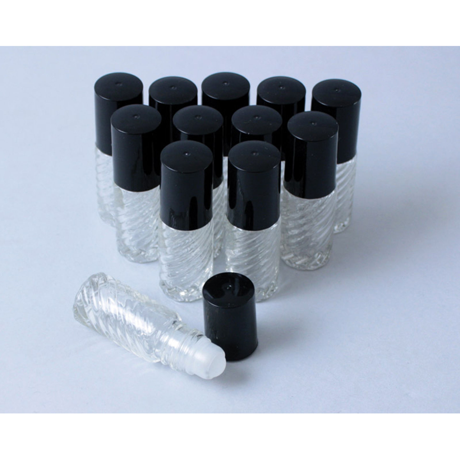 Picture of 1 Dram Fancy ROLL-ON Bottles - Set Of 12