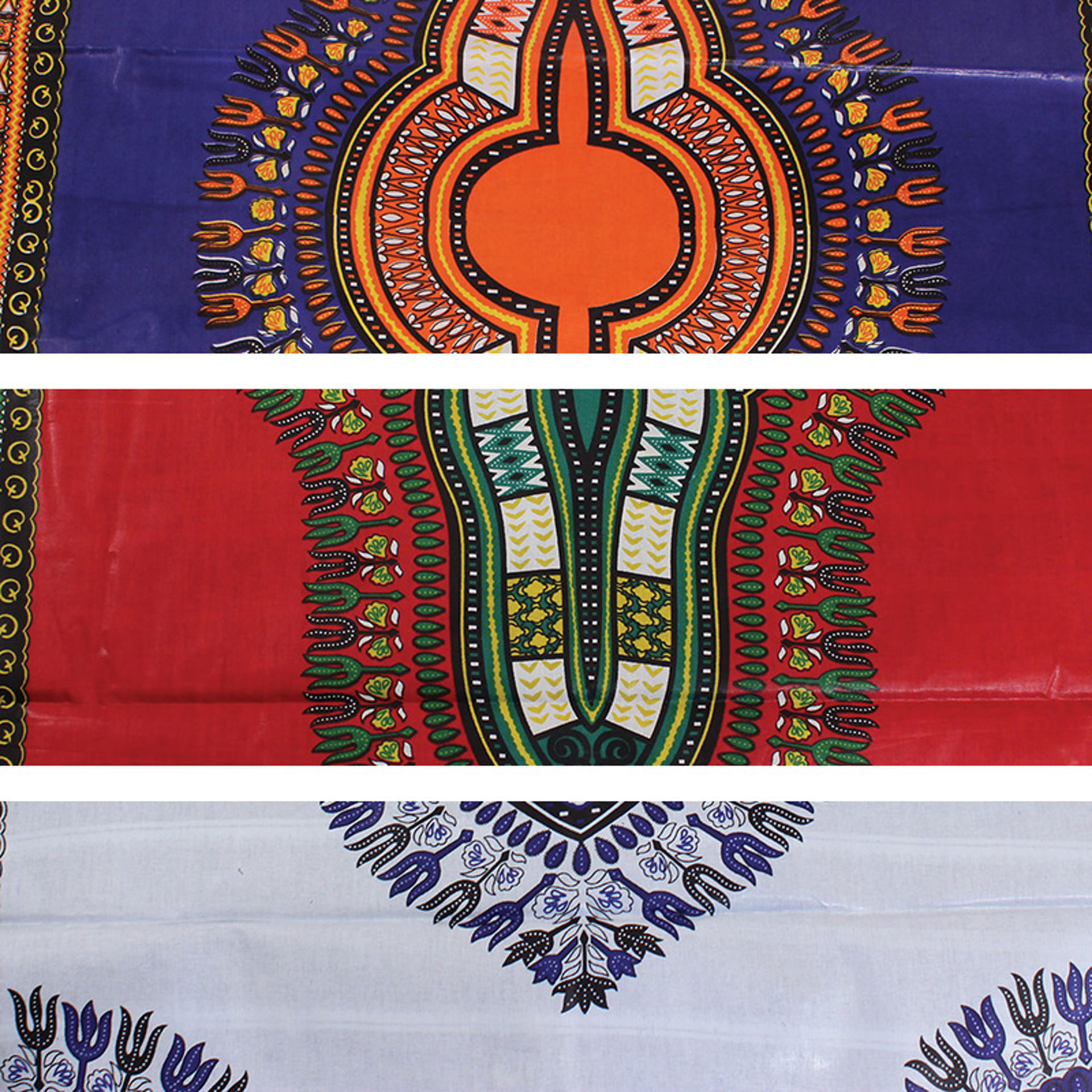 Picture of Economy Fabric: Traditional Print