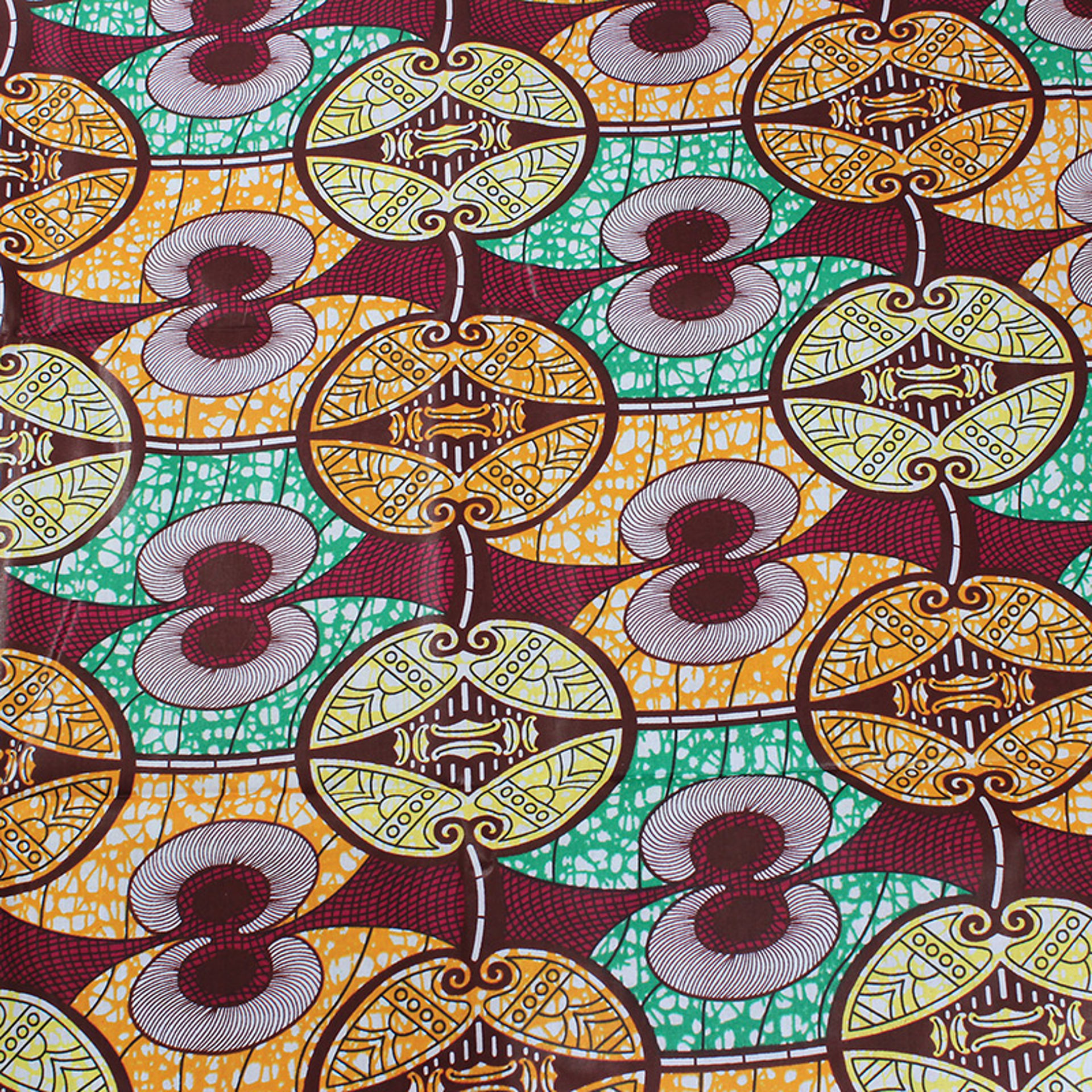 Picture of Economy Fabric: Tribal Print - 12 Yds