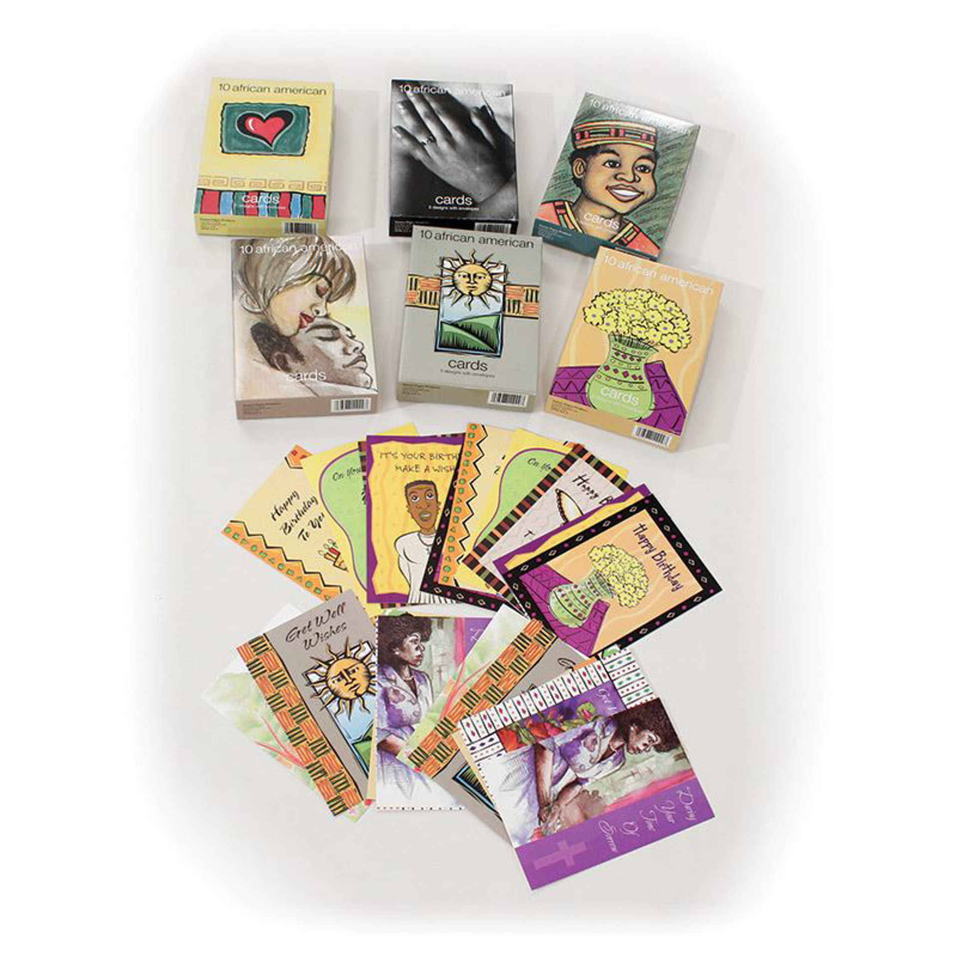 Picture of  Set Of 60 Assorted Greeting Cards