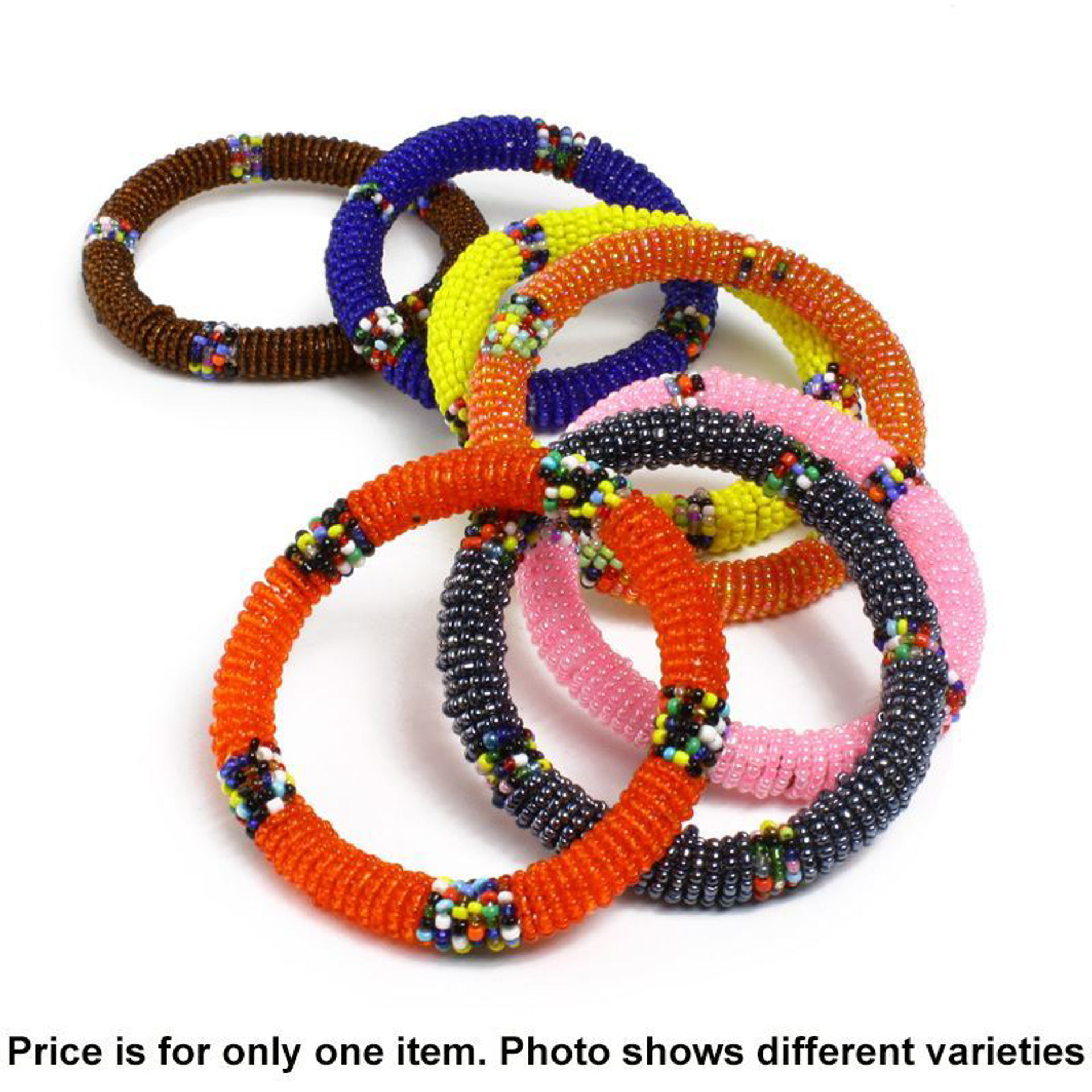 Picture of Maasai Beaded Bracelets - Round