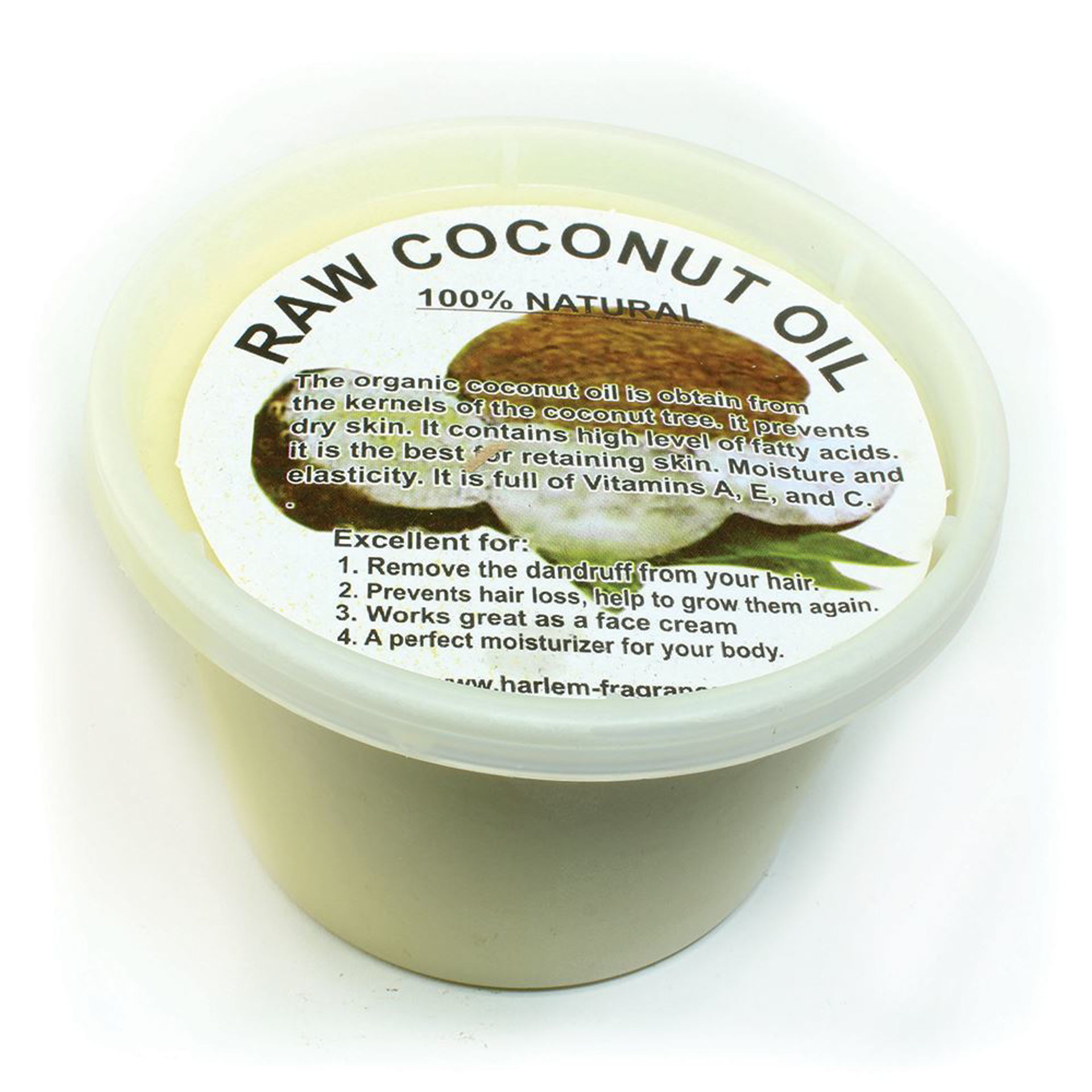 Picture of Raw Coconut Oil/Shea Butter Blend-16 oz