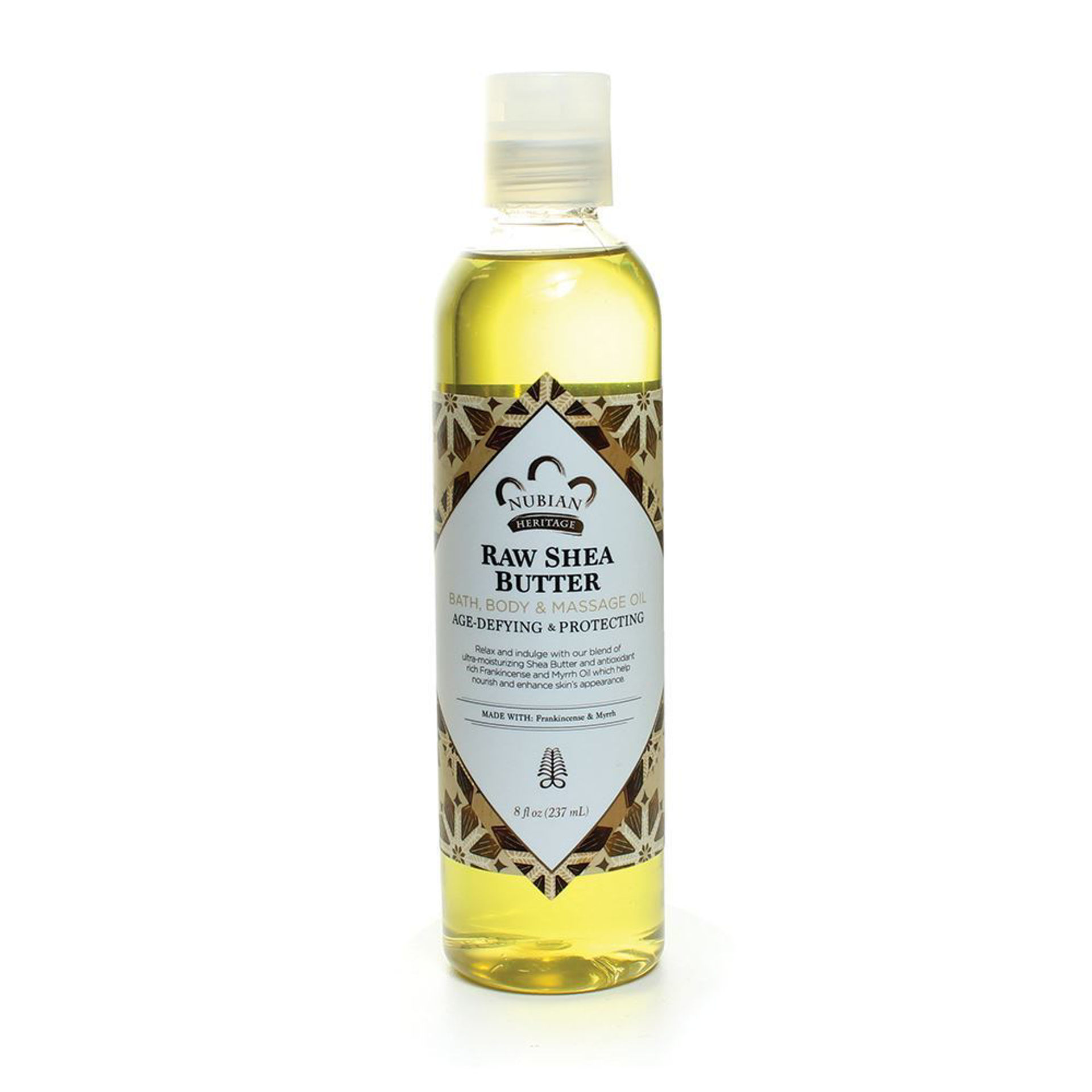 Picture of Raw Shea Butter Bath & Body Oil - 8 oz.