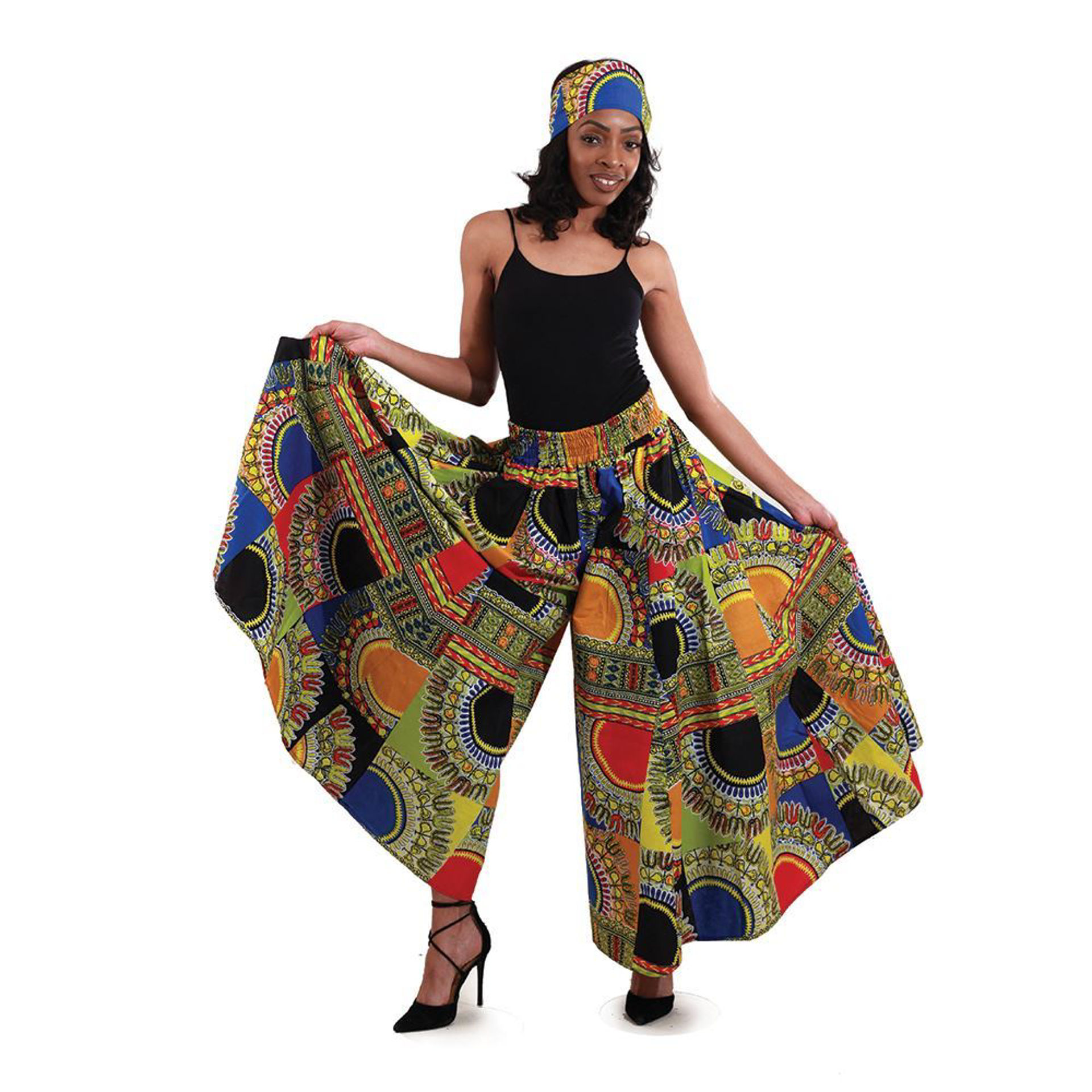 Picture of Traditional Patchwork Palazzo Pants