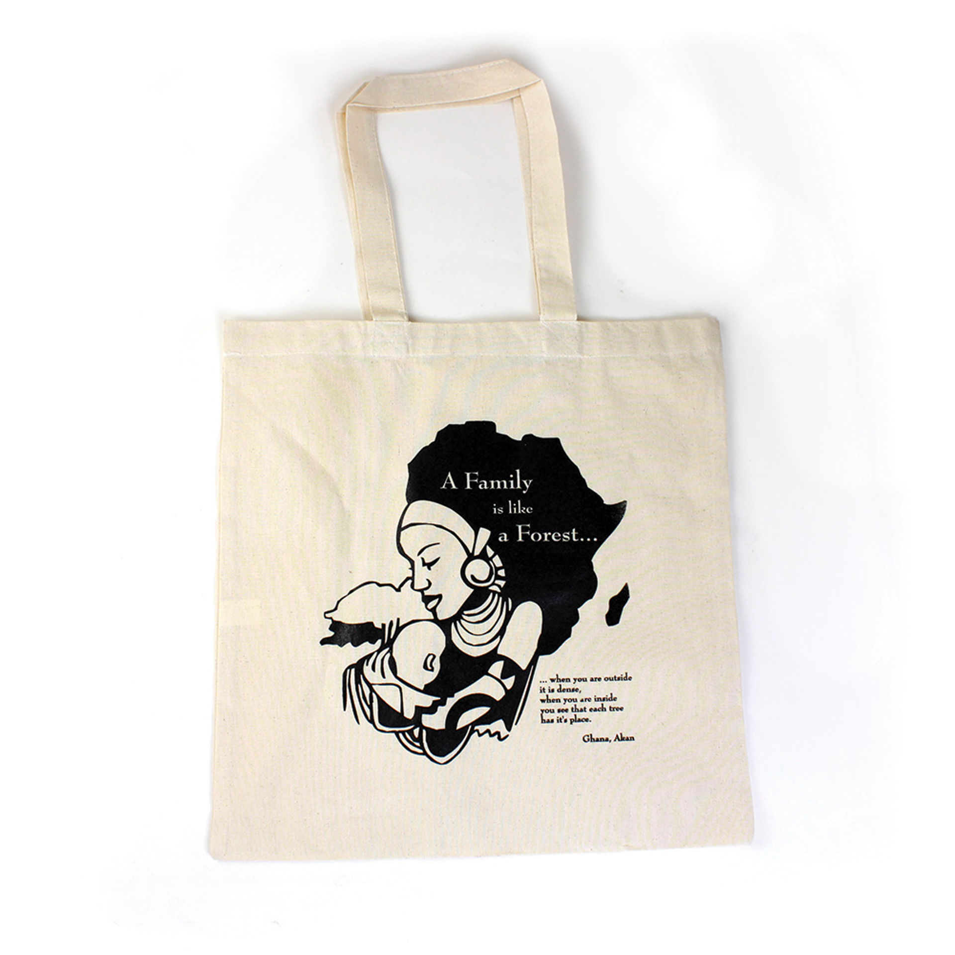 Picture of Tote Bag: A Family Is Like A Forest...