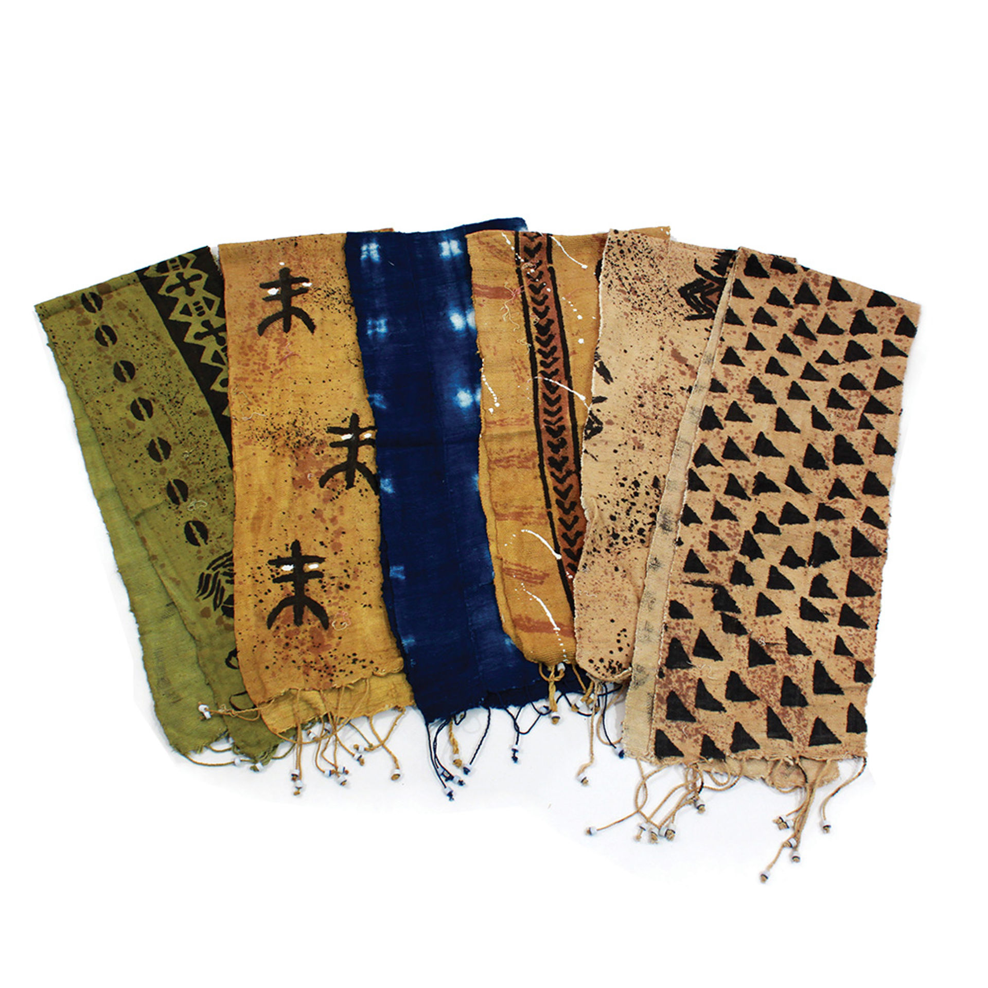 Picture of Extra Wide Mud Cloth Scarf/Table Runner