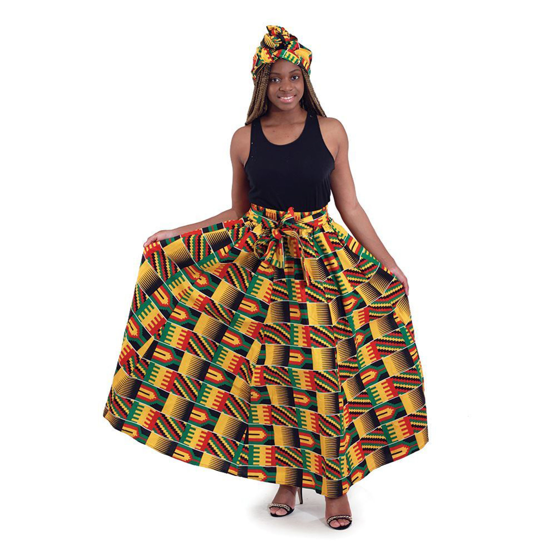 Picture of Kente Long Skirt