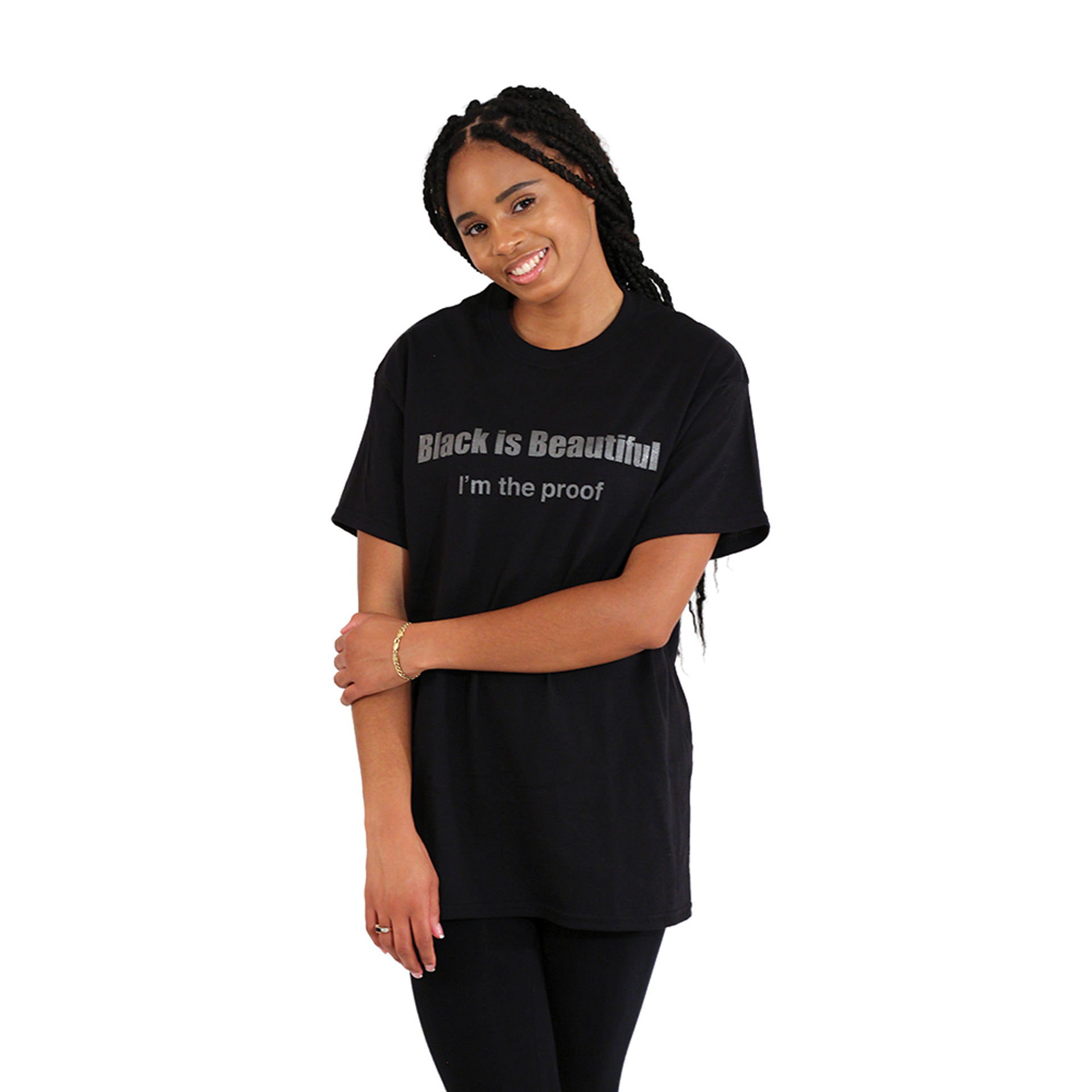 Picture of Black Is Beautiful I'm The Proof T-Shirt