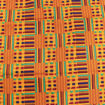 Picture of DAMAGED Kente Print Fabric #1 - 12 Yards