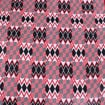 Picture of Red/White Kente Fabric