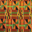 Picture of African-Made Kente #2 Fabric 12 Yards