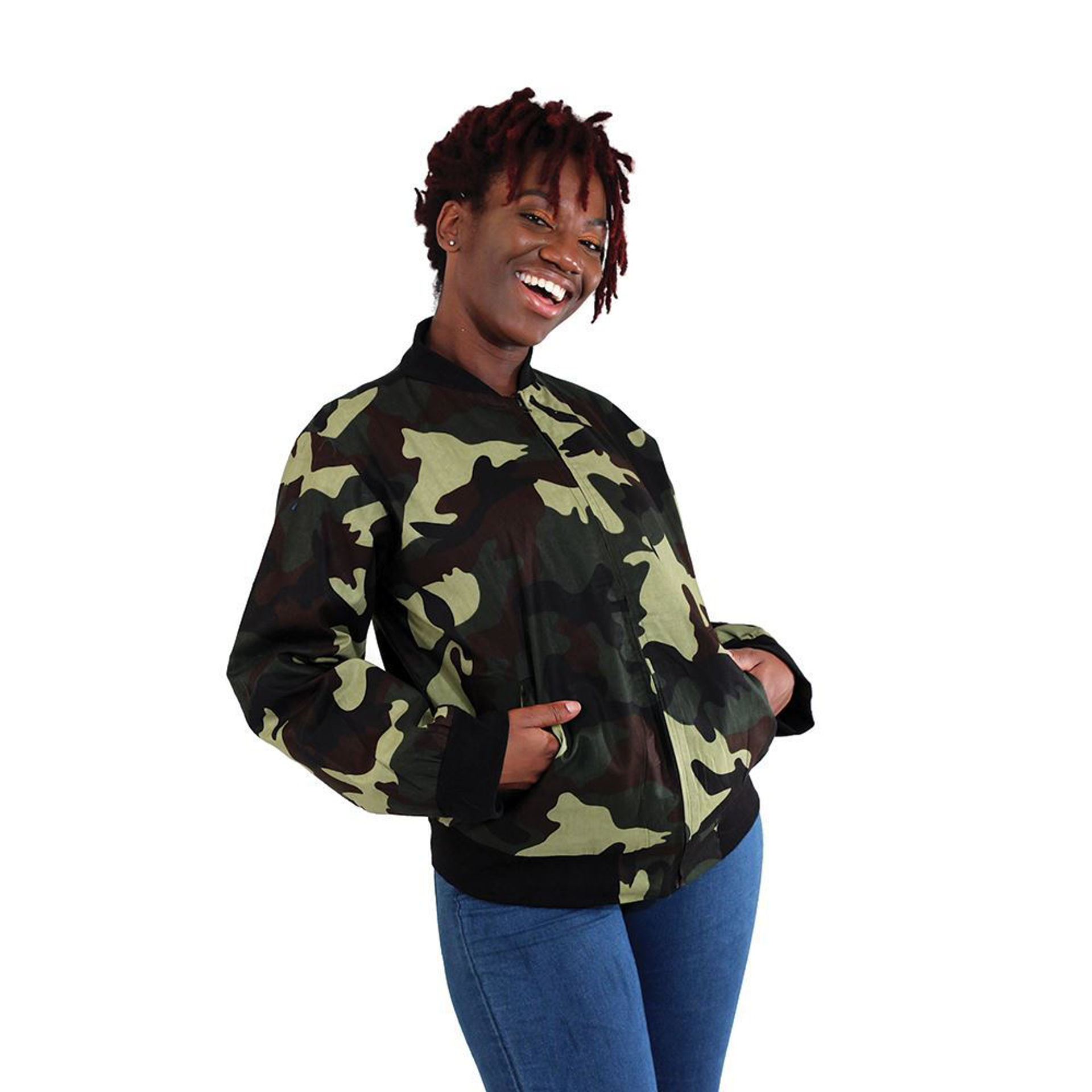 Picture of Camo Bomber Jacket