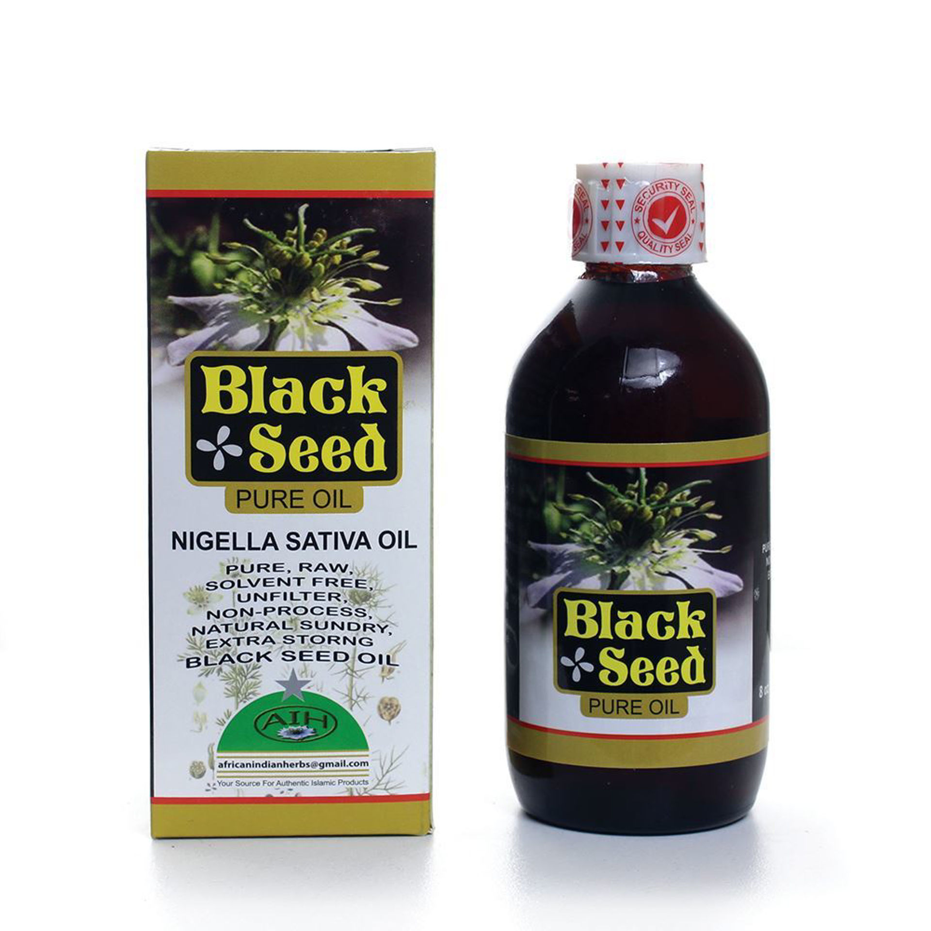 Picture of Pure Black Seed Oil - 8 oz.
