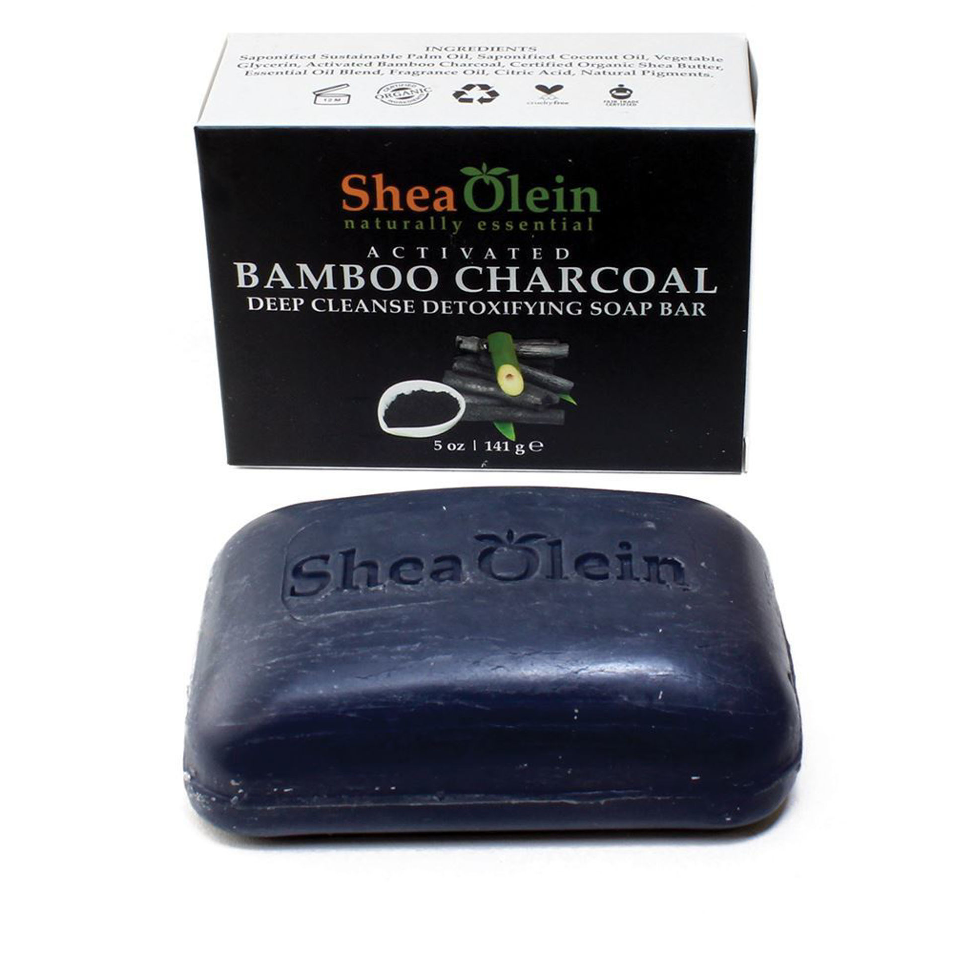 Picture of Activated Bamboo Charcoal Soap - 5 oz.