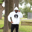 Picture of White Hoodie: Unapologetically Black