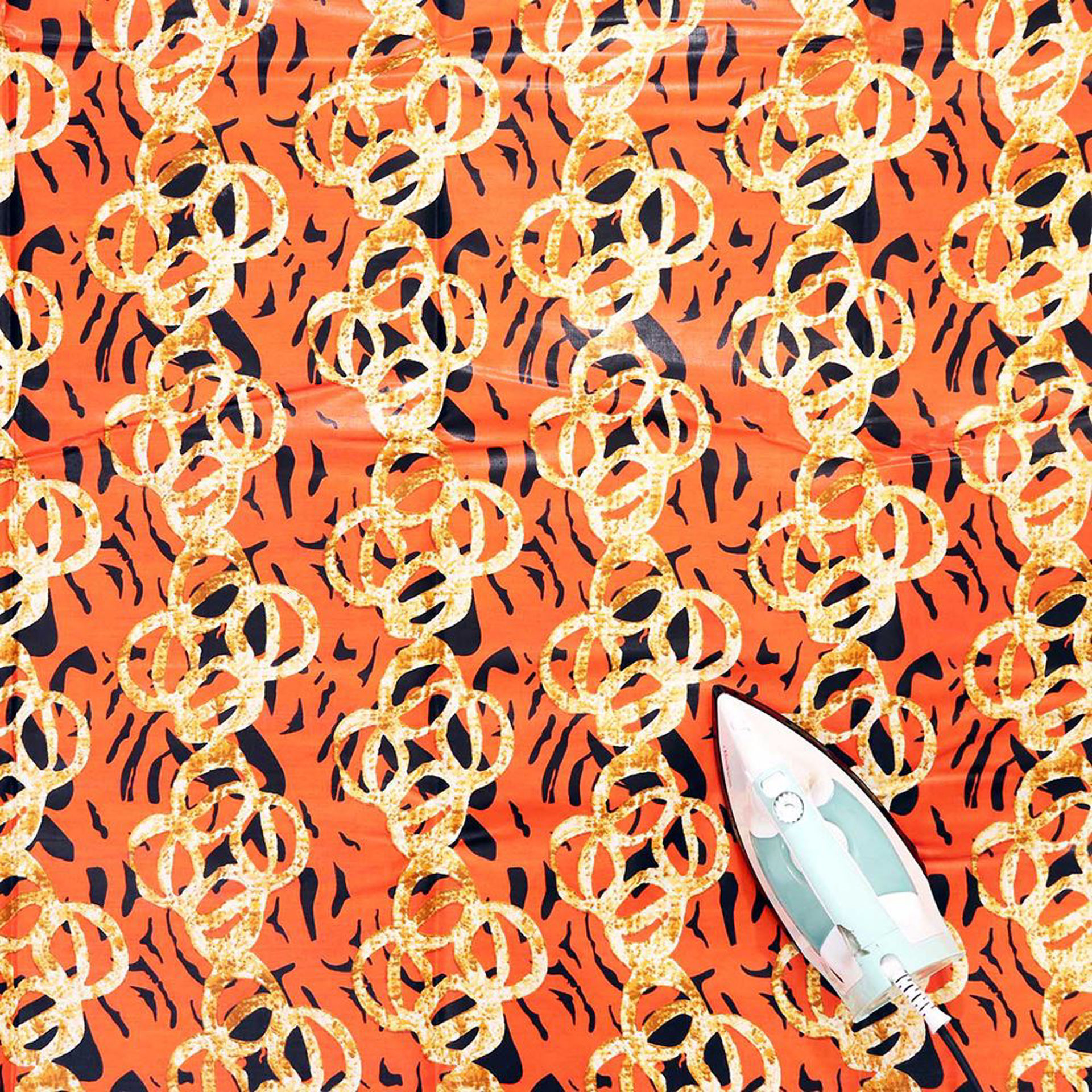 Picture of Economy Fabric: Orange - 12 Yards