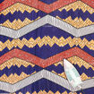 Picture of Economy Fabric: Prp/Red/Orang - 12 Yards