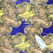 Picture of Economy Fabric: Yellow/Blue - 12 Yards