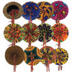 Picture of Set Of 12 African Folding Fans