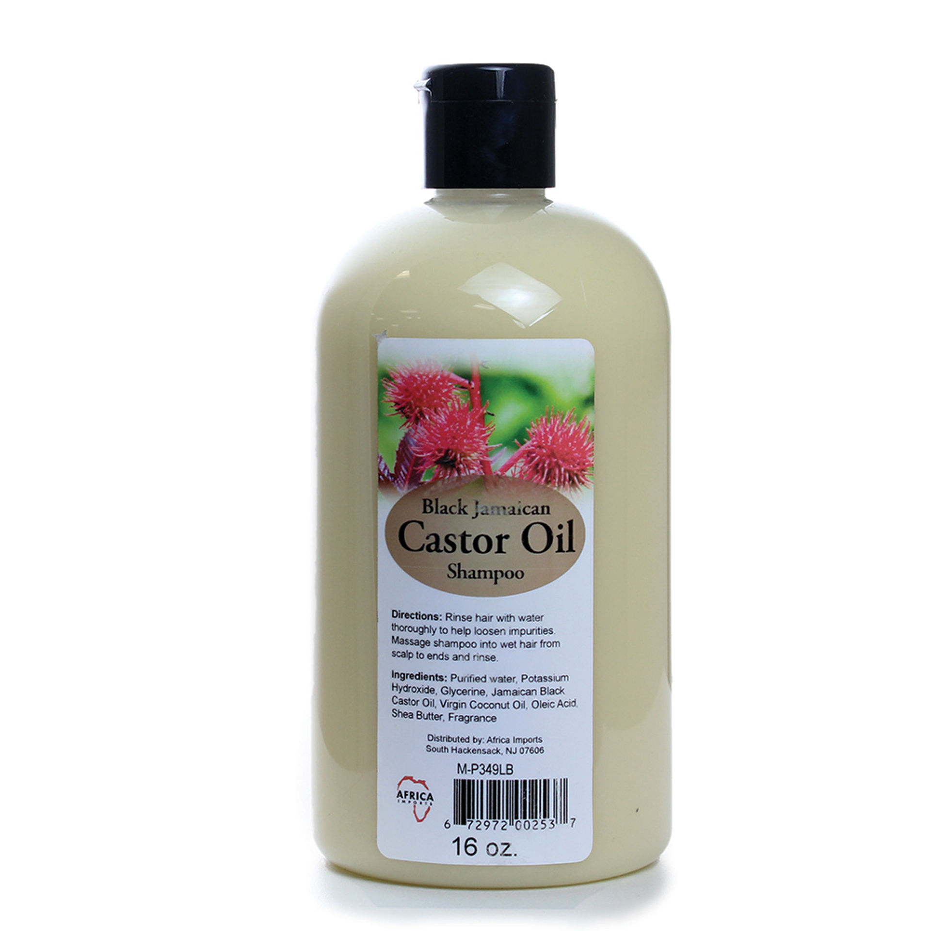 Picture of Black Jamaican Castor Oil Shampoo 16 oz.