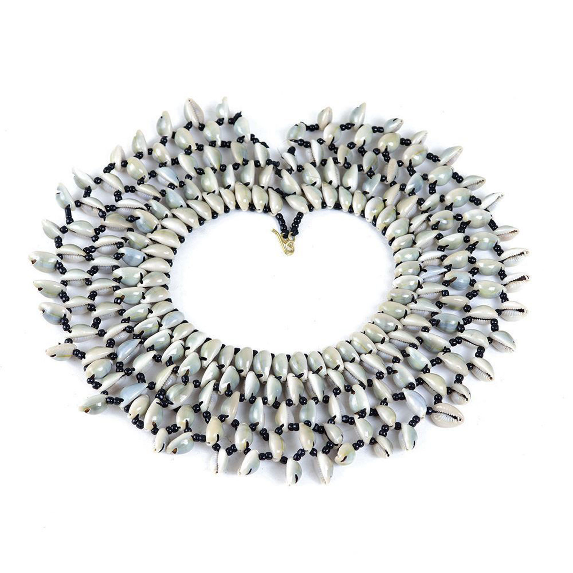 Picture of Kenyan Cowrie Shell Collar Necklace