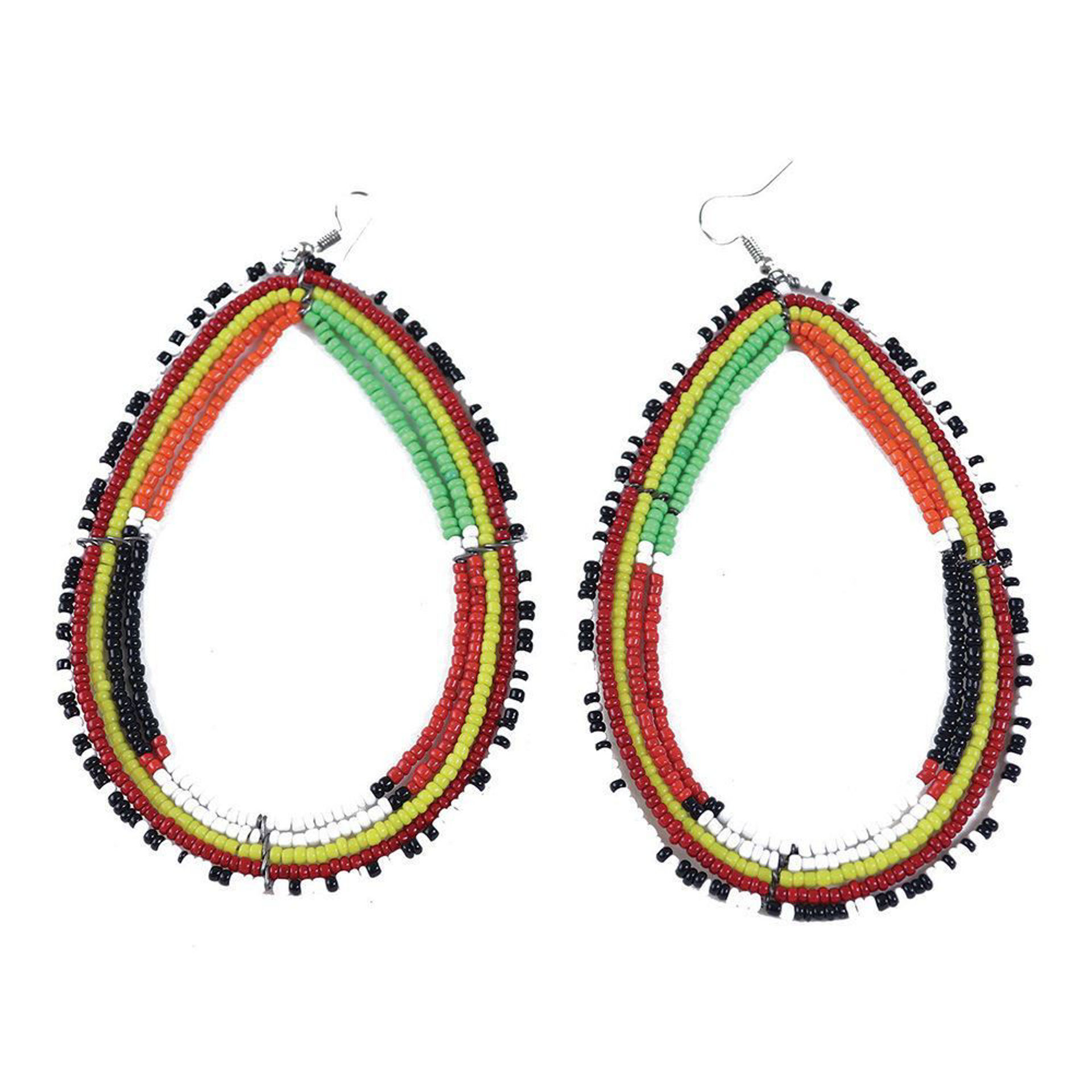 Picture of Over-Sized Maasai Beaded Earrings