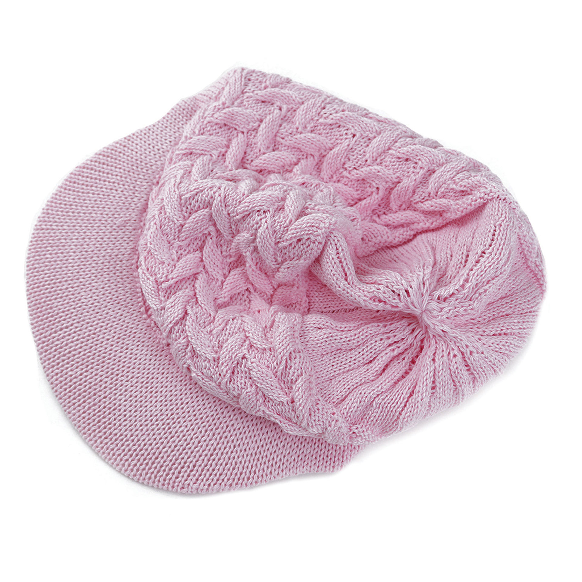 Picture of Knit Visor Cap - Pink