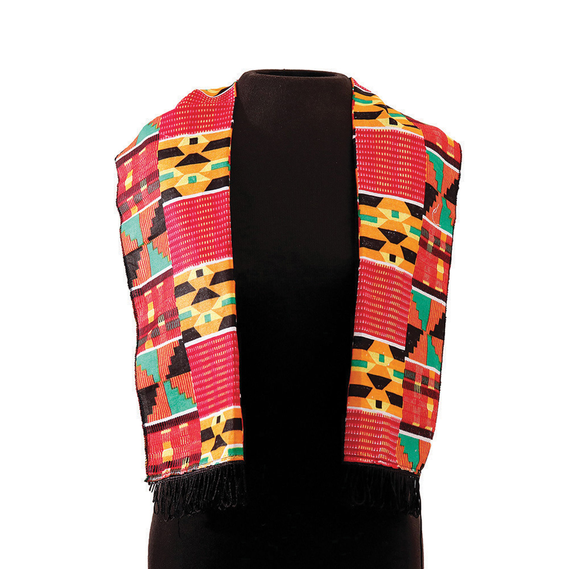 Picture of Kente Scarf #2 (Pink)