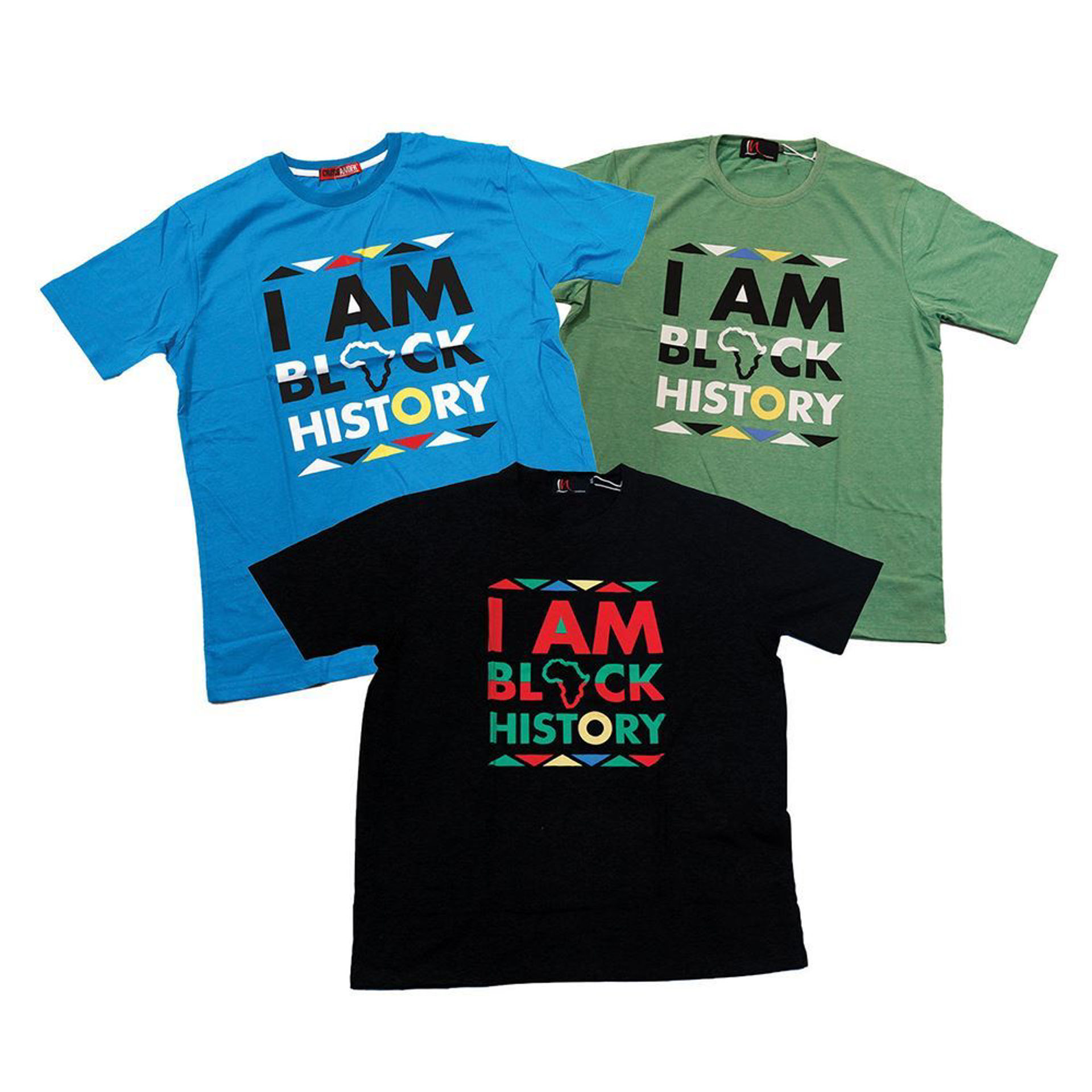 Picture of Set Of 3 I Am Black History Shirts ASRTD