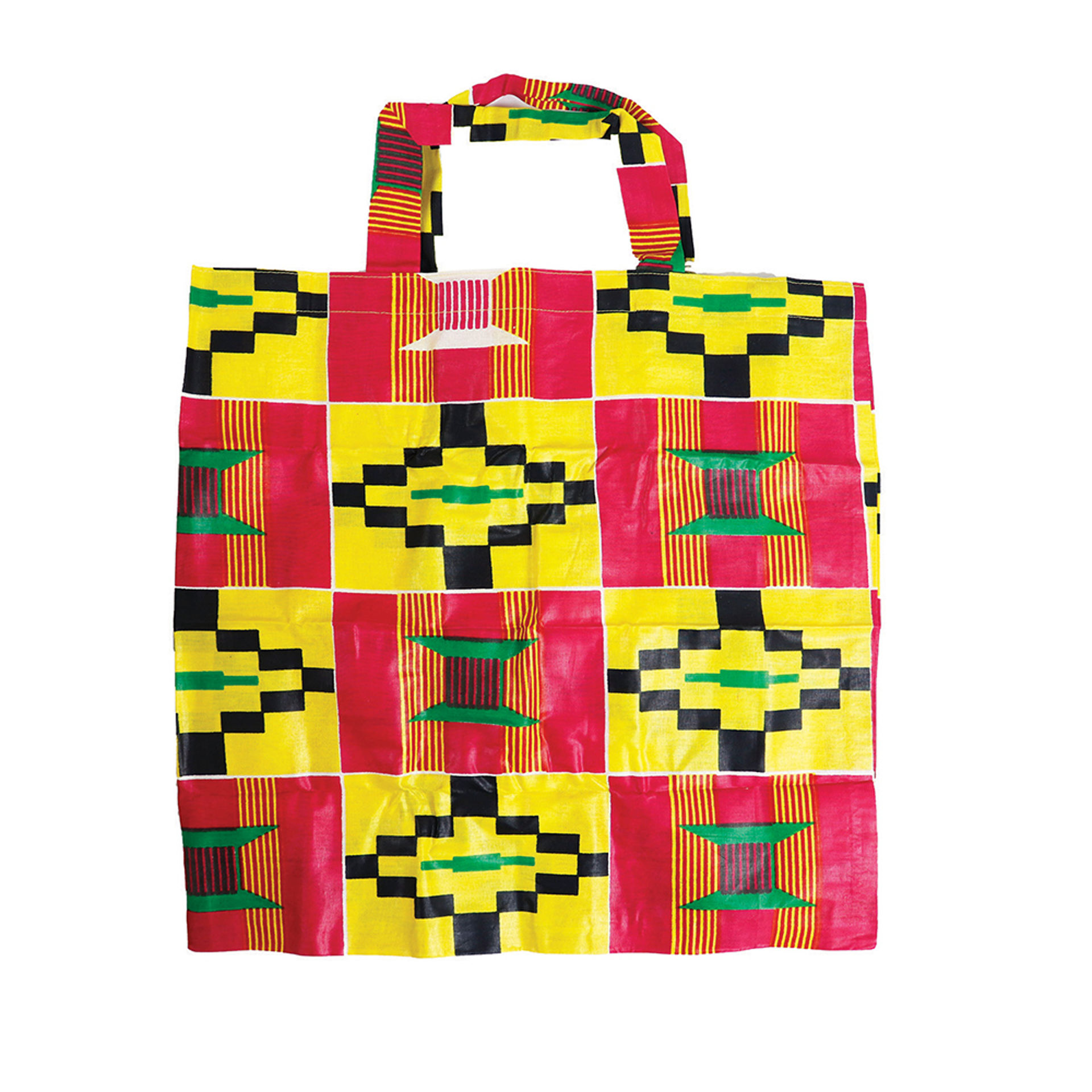Picture of Kente Travel Bag: Yellow/Pink