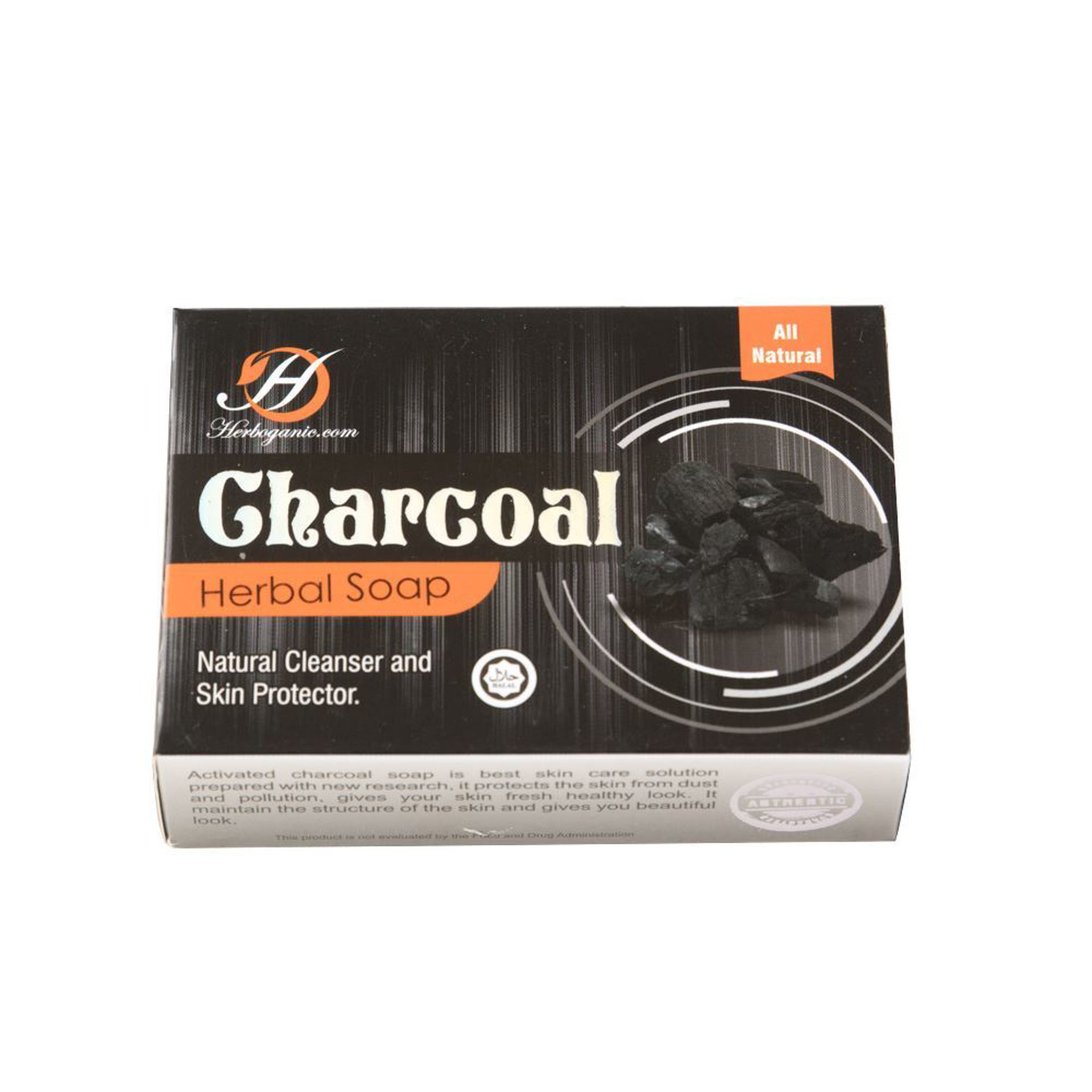 Picture of Charcoal Herbal Soap - 3 ½ oz